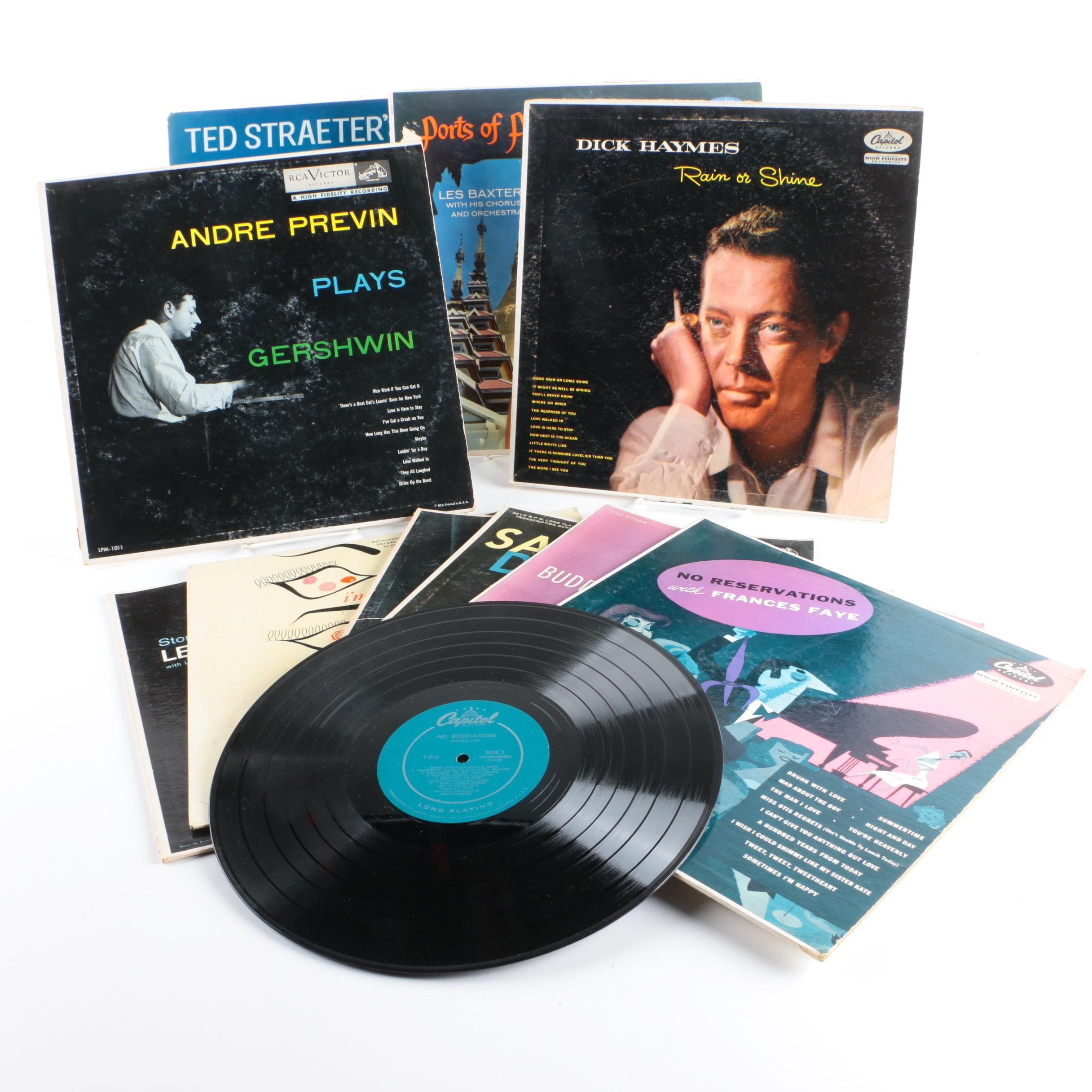 Frances Faye, Dick Haymes, Buddy Greco, Matt Dennis and Other LPs