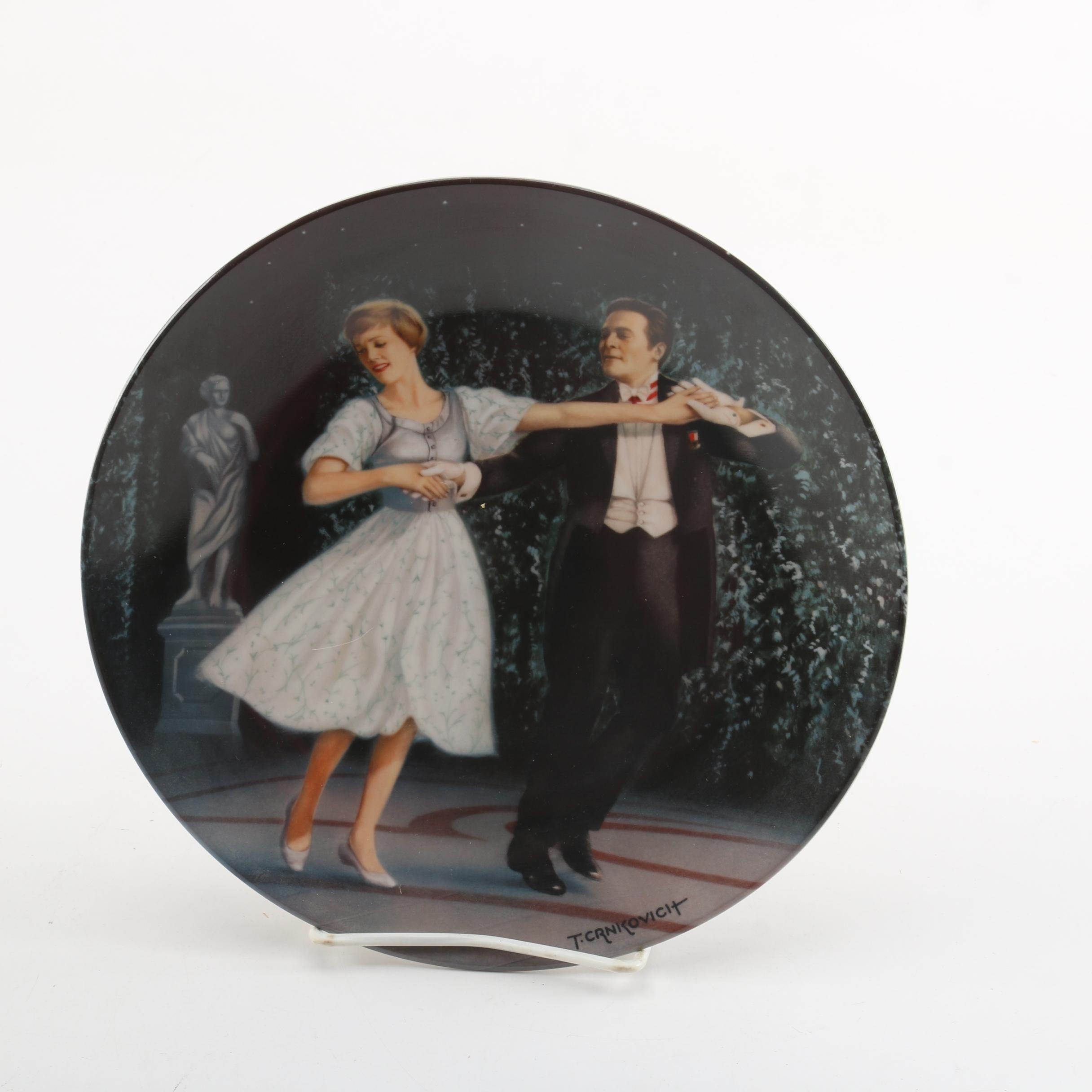 "Knowles ""The Sound of Music"" Porcelain Collector Plate"