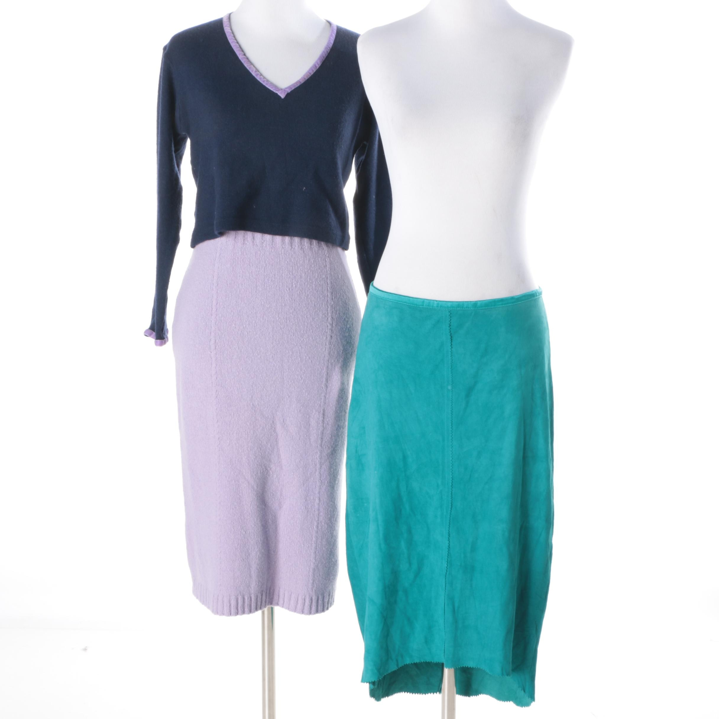 Women's Sweater and Two Skirts
