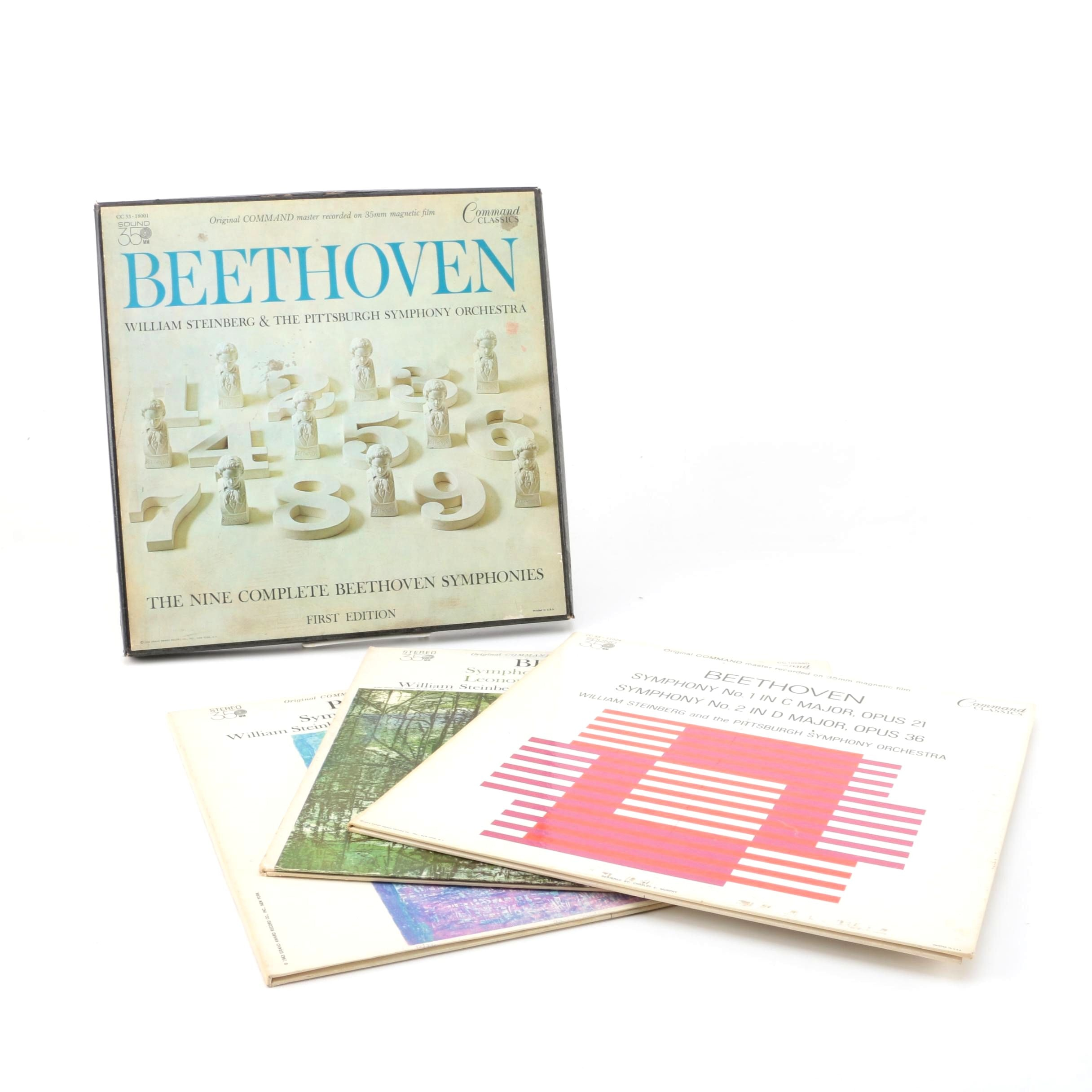 Beethoven Records and Boxed Set by the Pittsburgh Symphony Orchestra