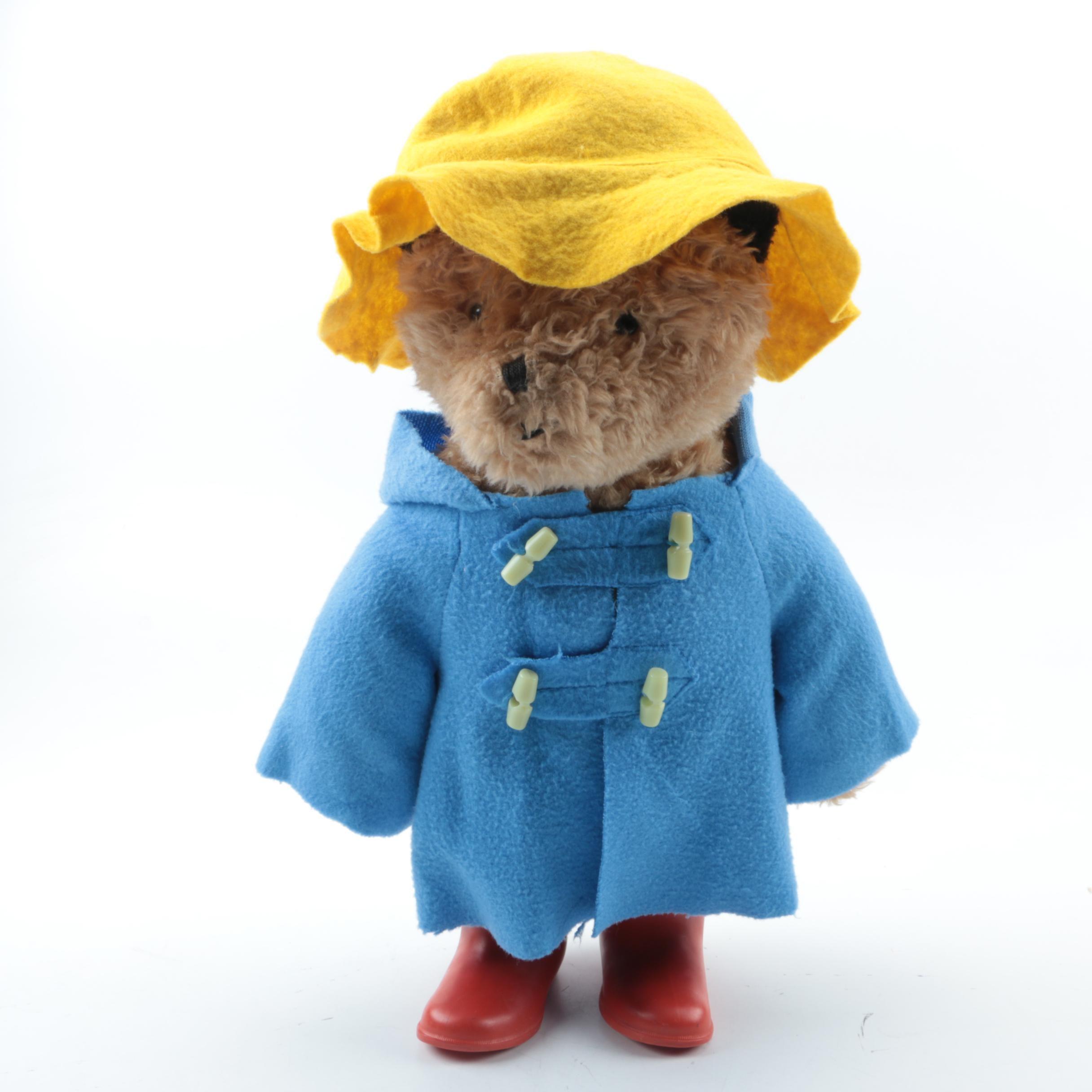 "Eden Toys Inc. ""Paddington Bear"" Plush Teddy"