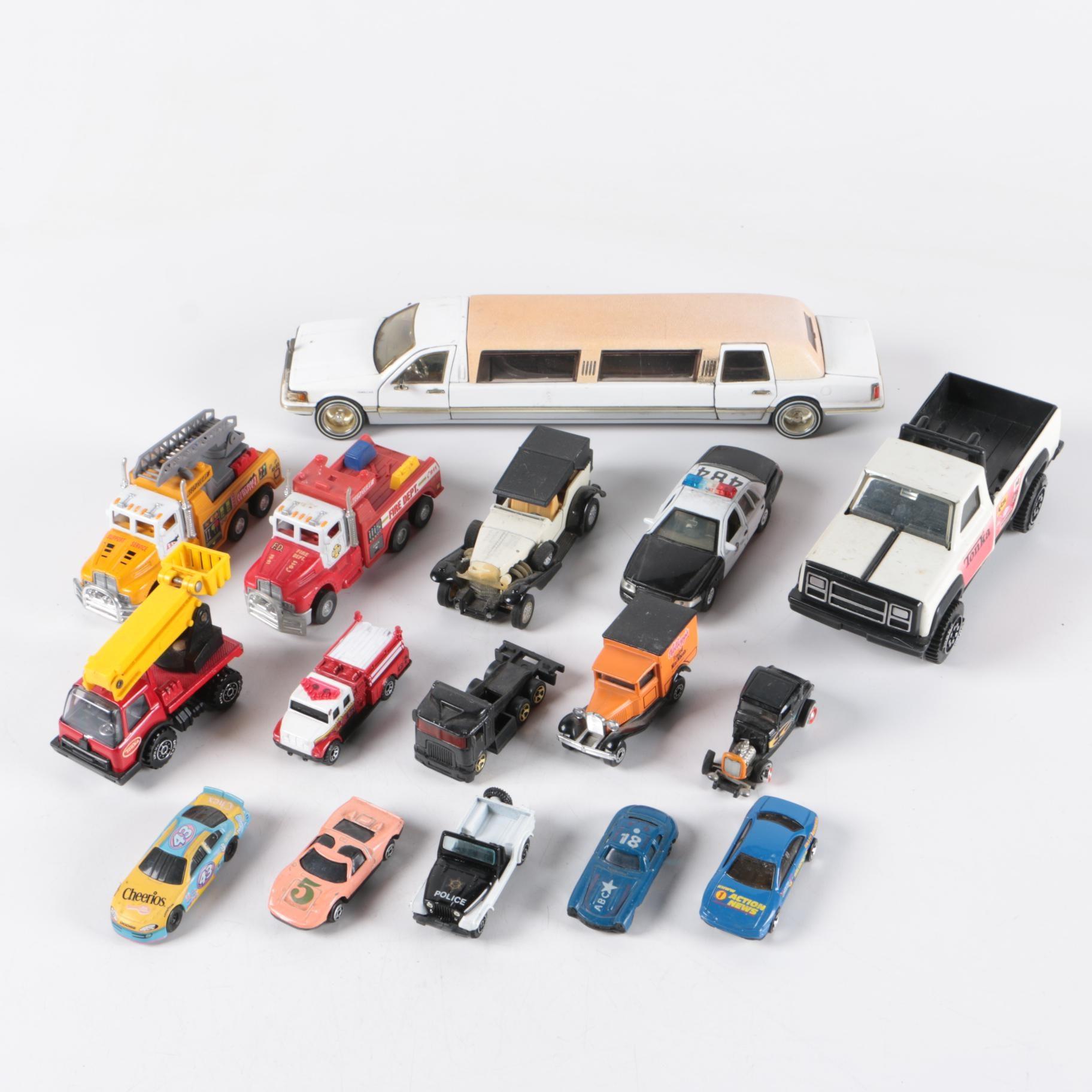 Miniature Scale Replica Die-Cast Cars