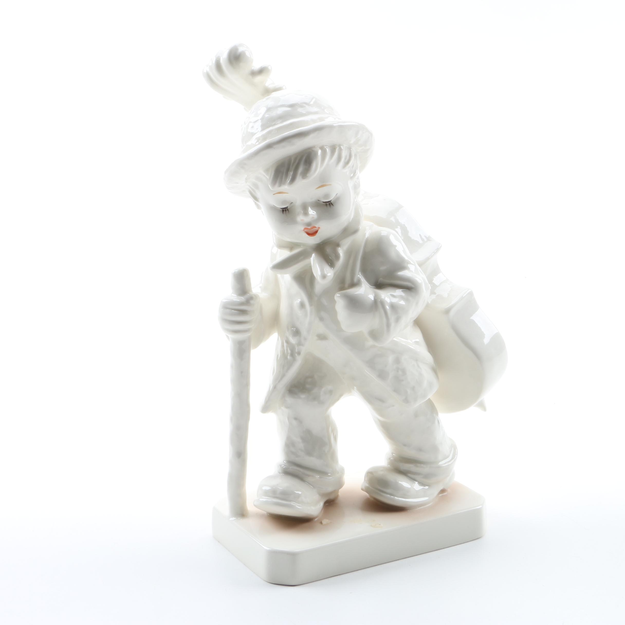 "Hummel Expressions of Youth Collection ""Little Cellist"" in White"
