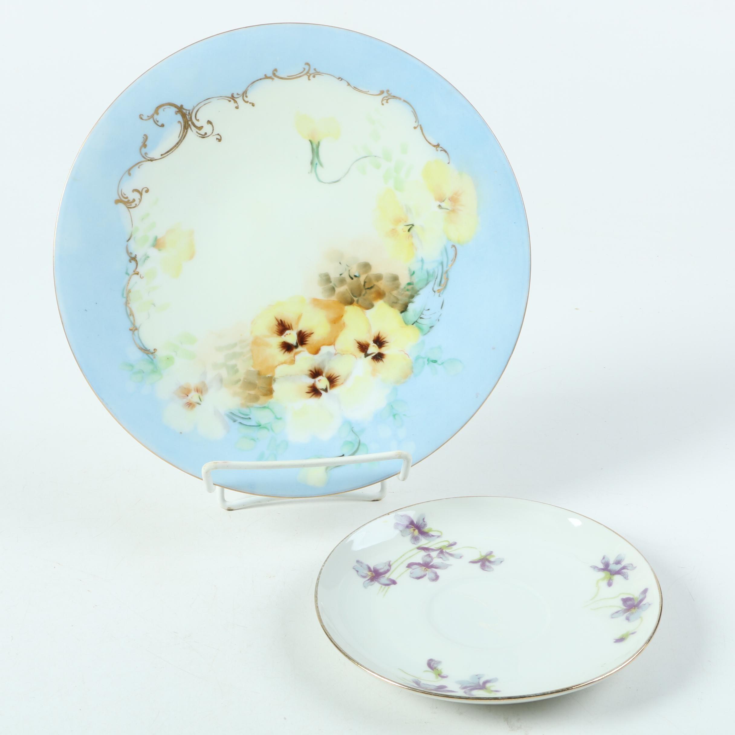 Limoges Porcelain Including Vintage Jean Pouyat