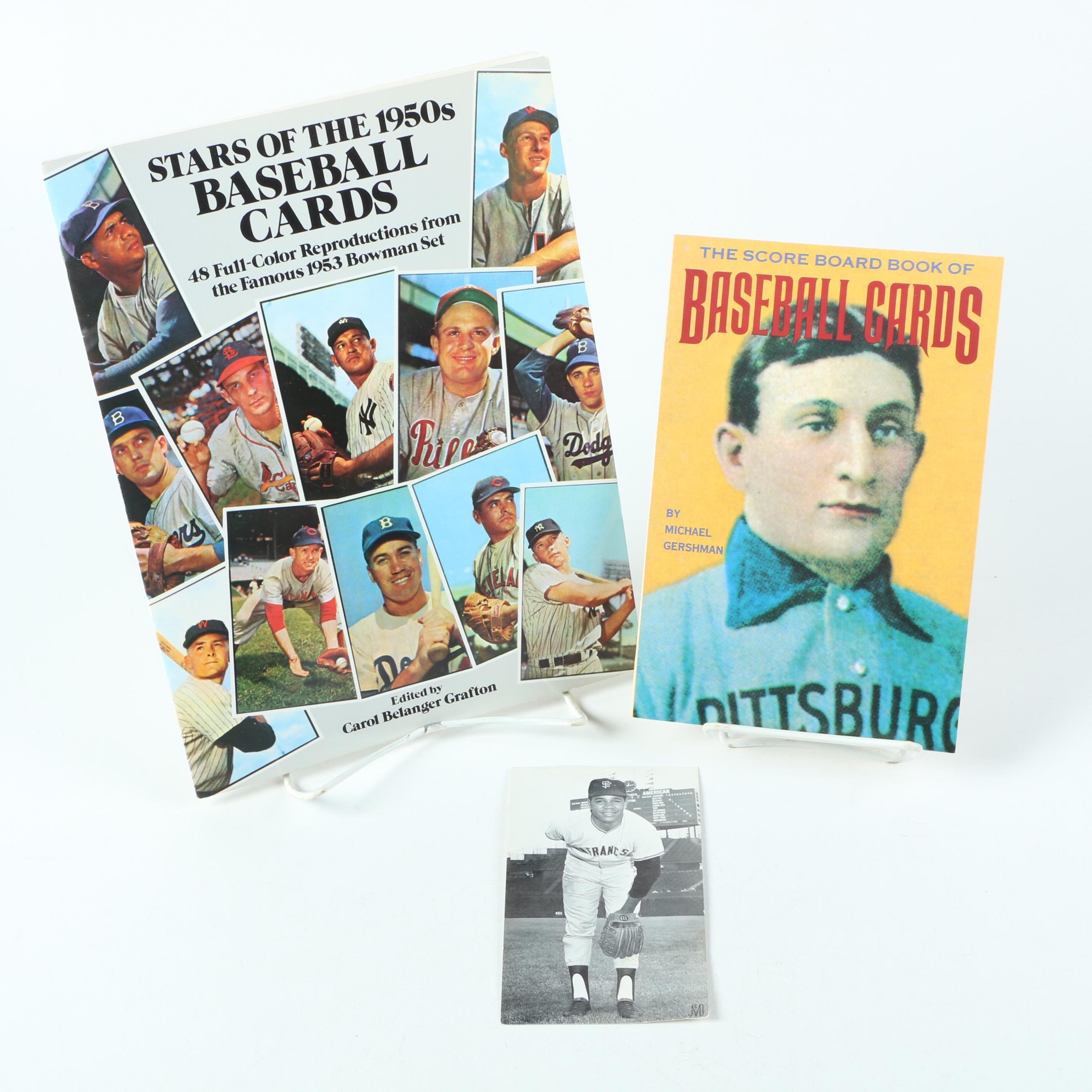 Juan Marichal Baseball Postcard and Card Books