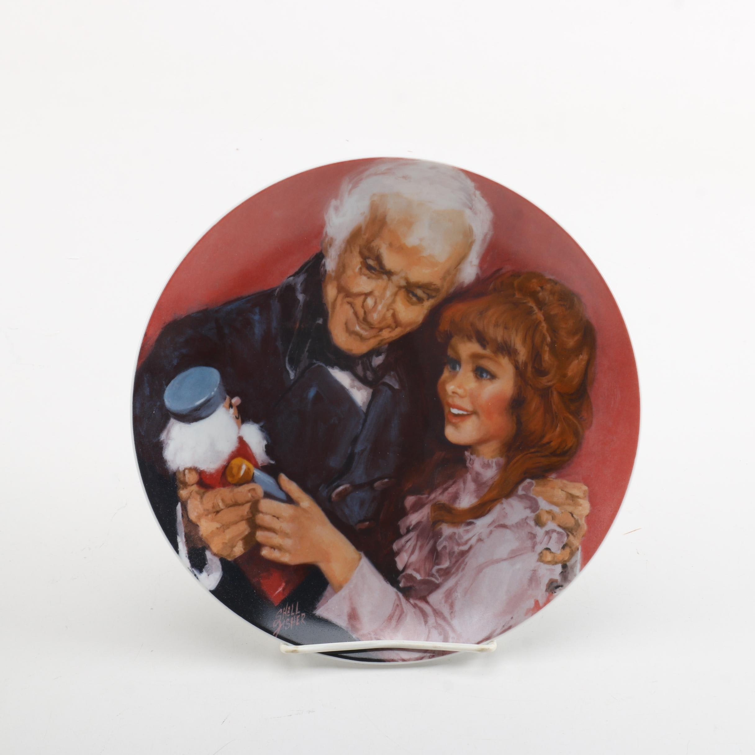 """Viletta """"A Gift From Godfather"""" Commemorative Plate"""