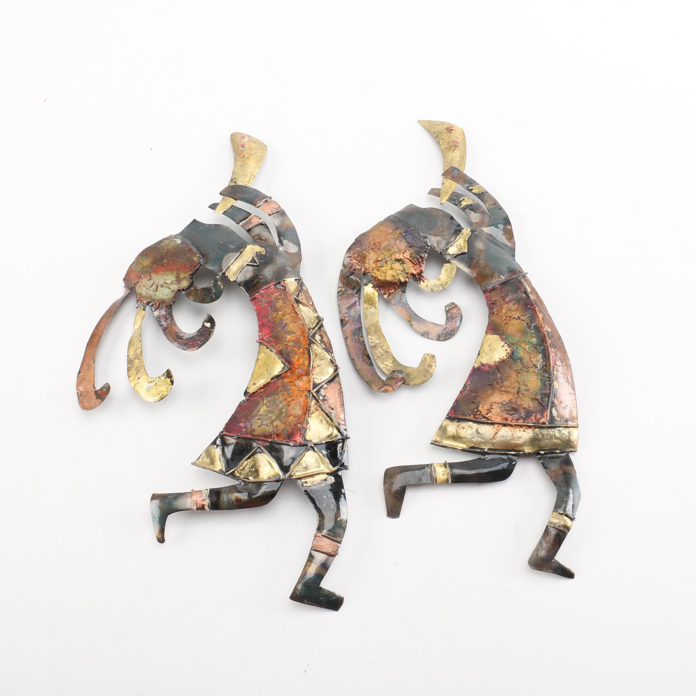 Decorative Metal Wall Figurines