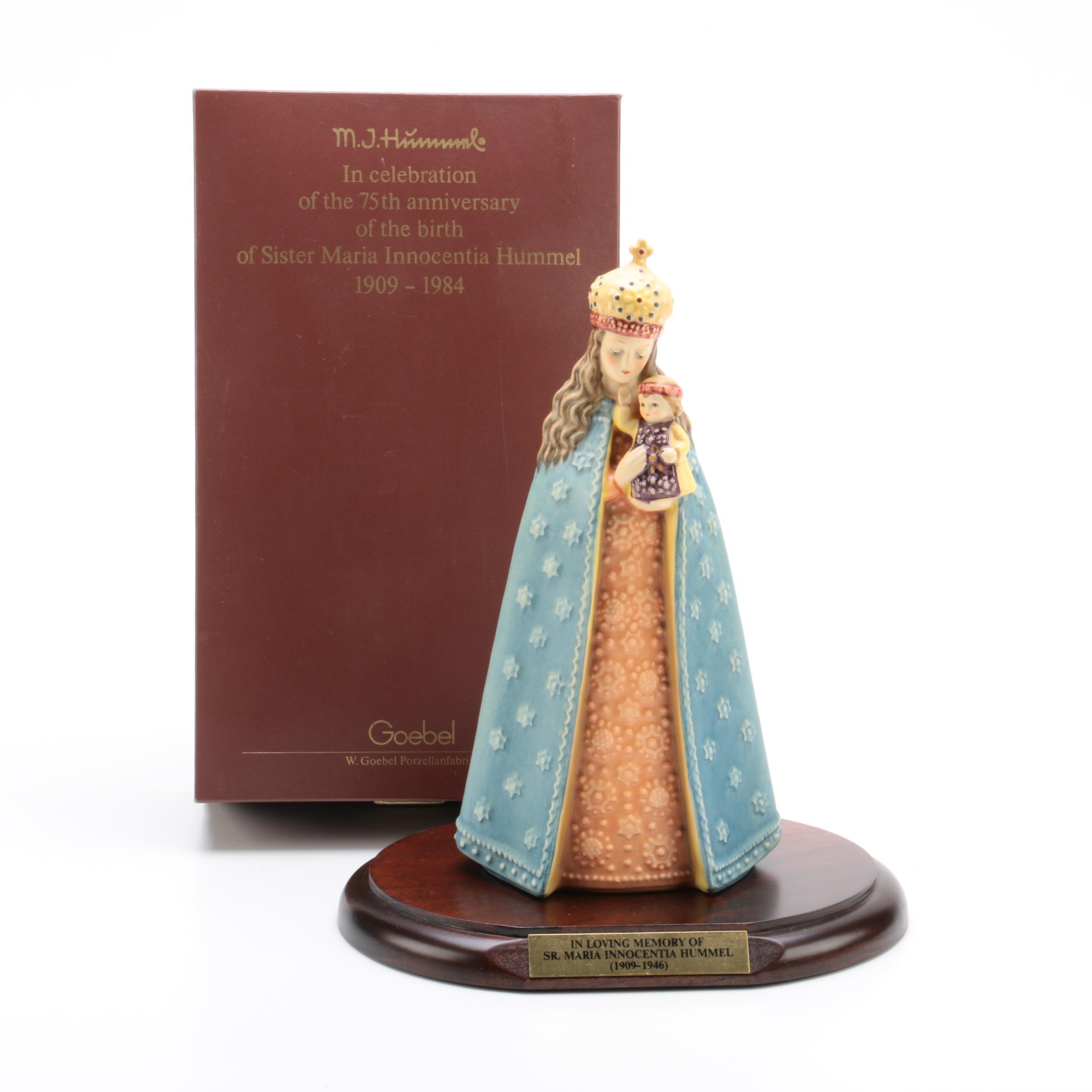 "75th Anniversary Goebel Hummel ""Sister Maria Innocentia Hummel"" Figurine"