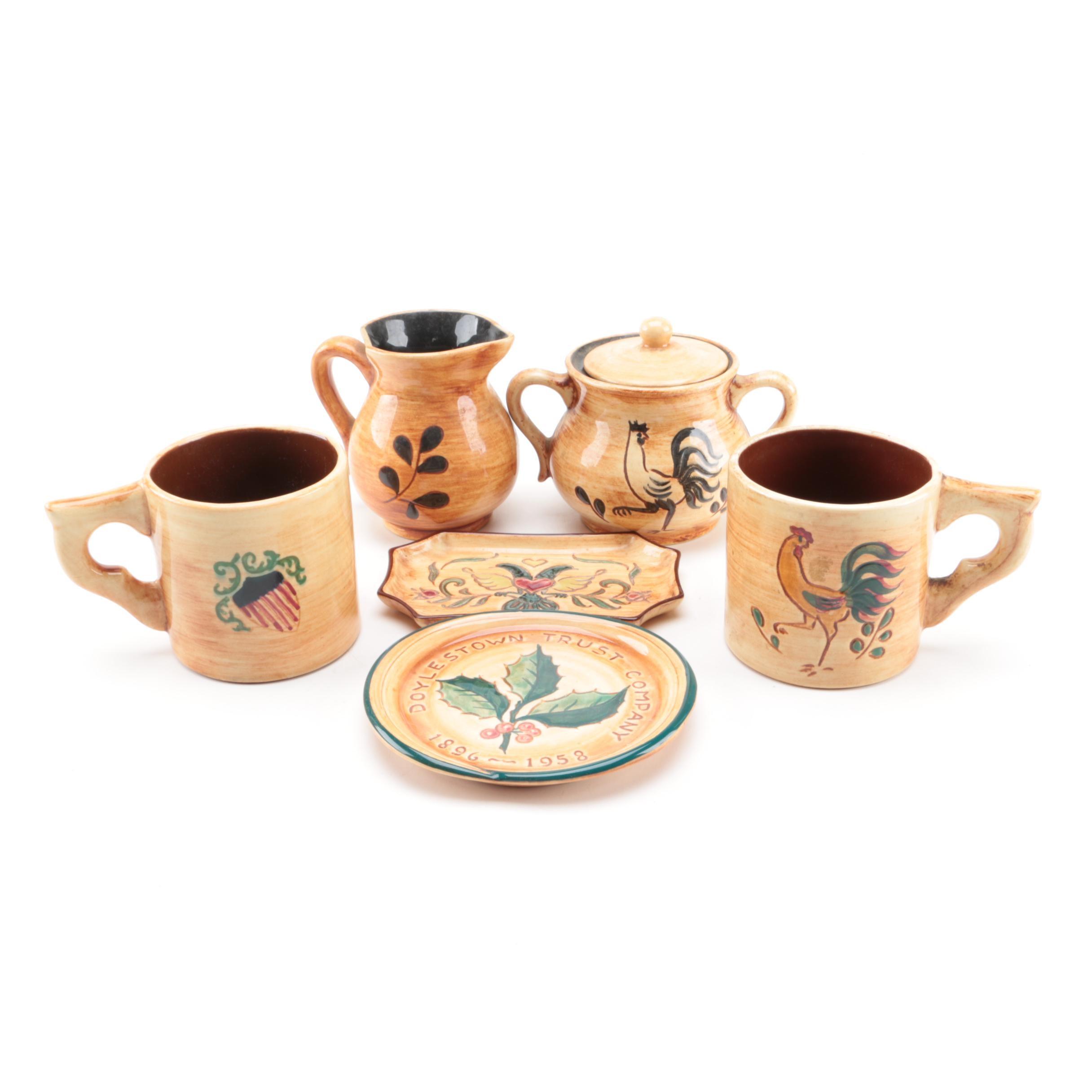 Pennsbury Pottery Tableware