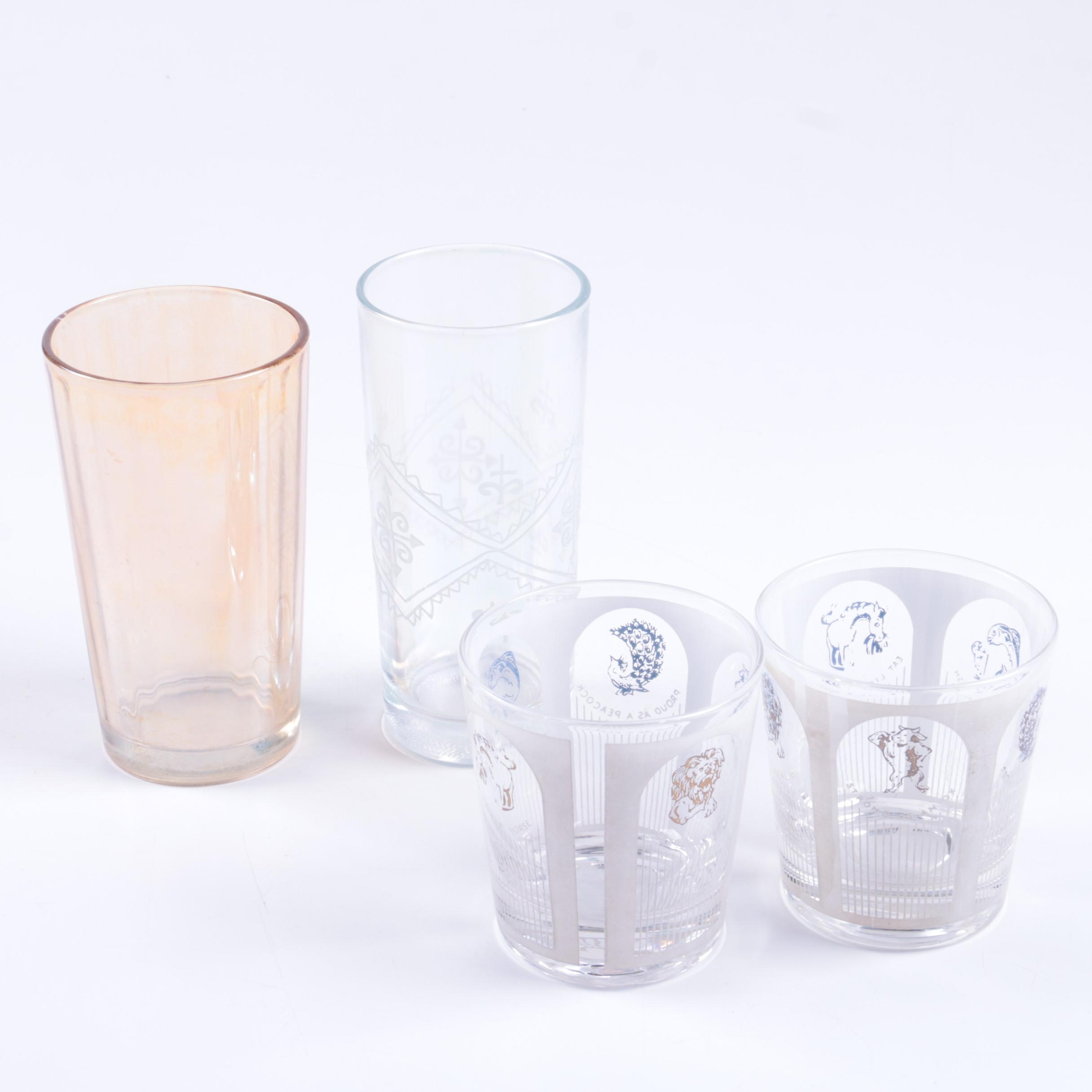 Assortment of Drinking Glasses