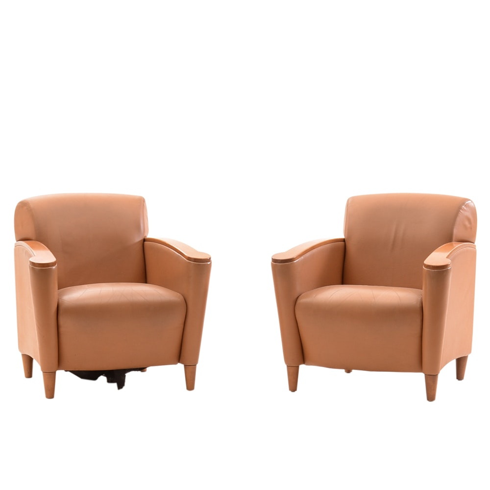 Pair of Contemporary Arm Chairs