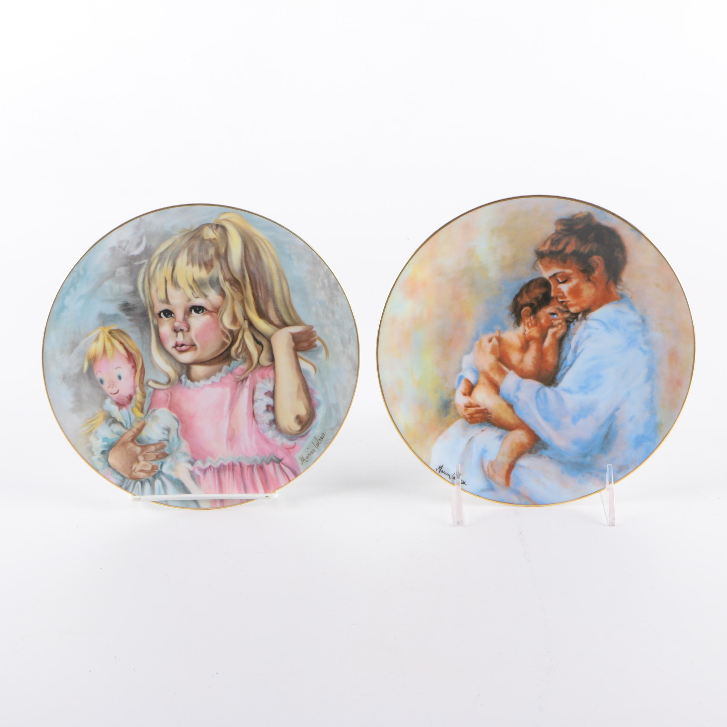 Pair of Limoges Limited Edition Plates
