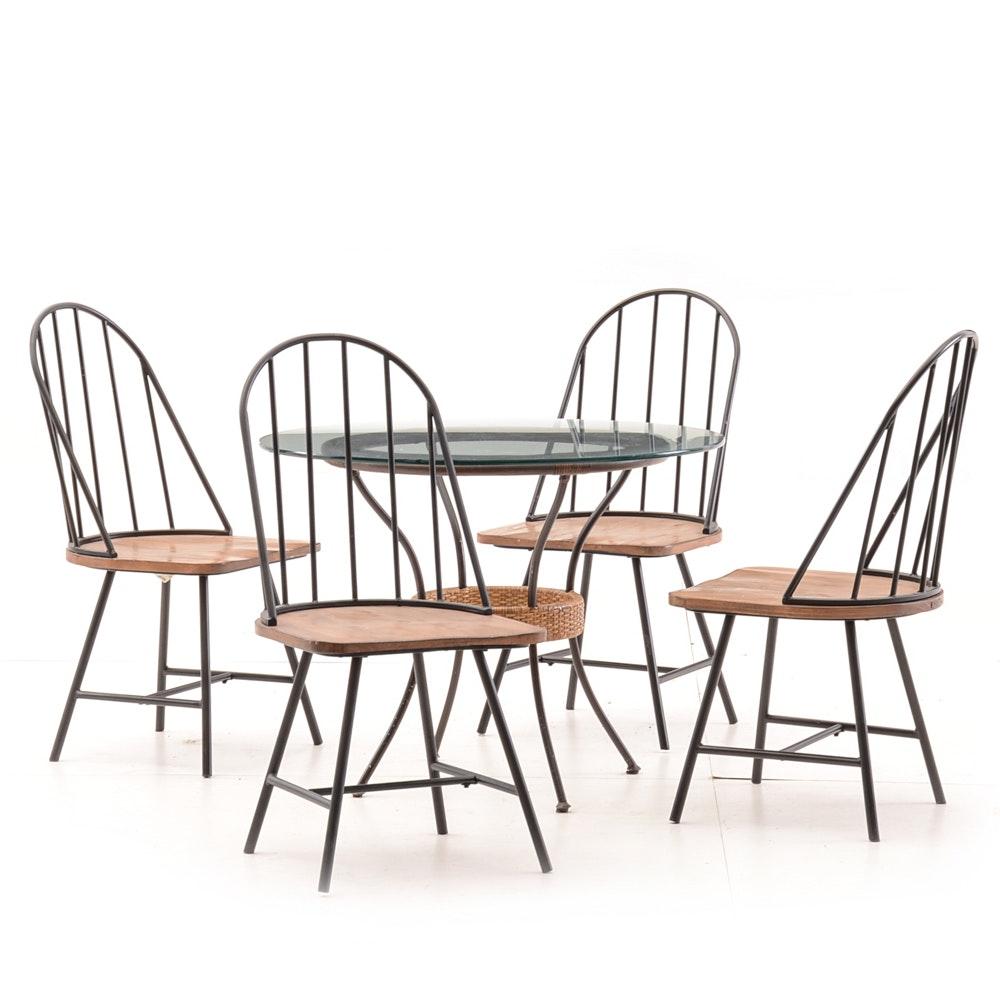 """""""Magnolia Home"""" Contemporary Dining Set"""