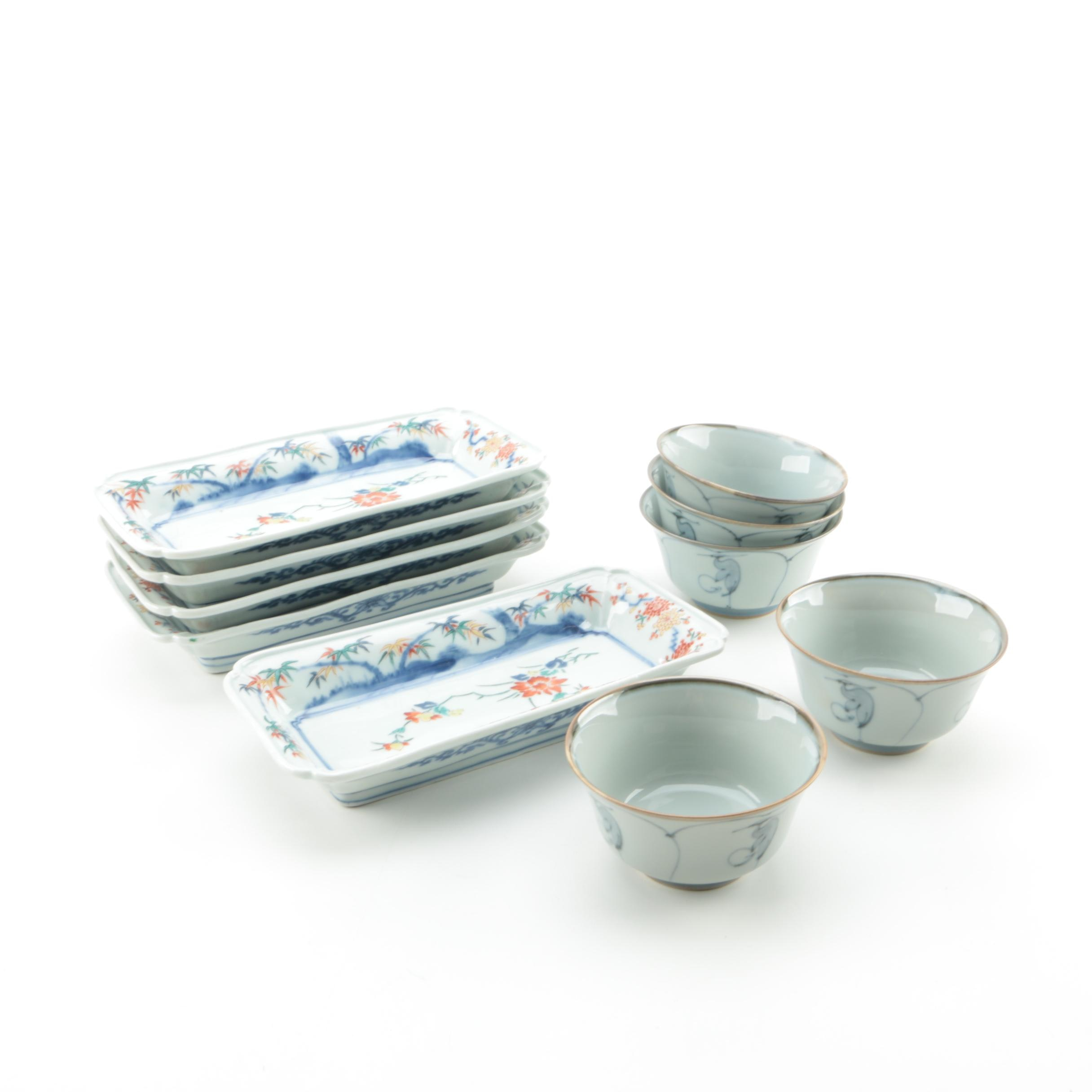Asian-Inspired Porcelain Dishes