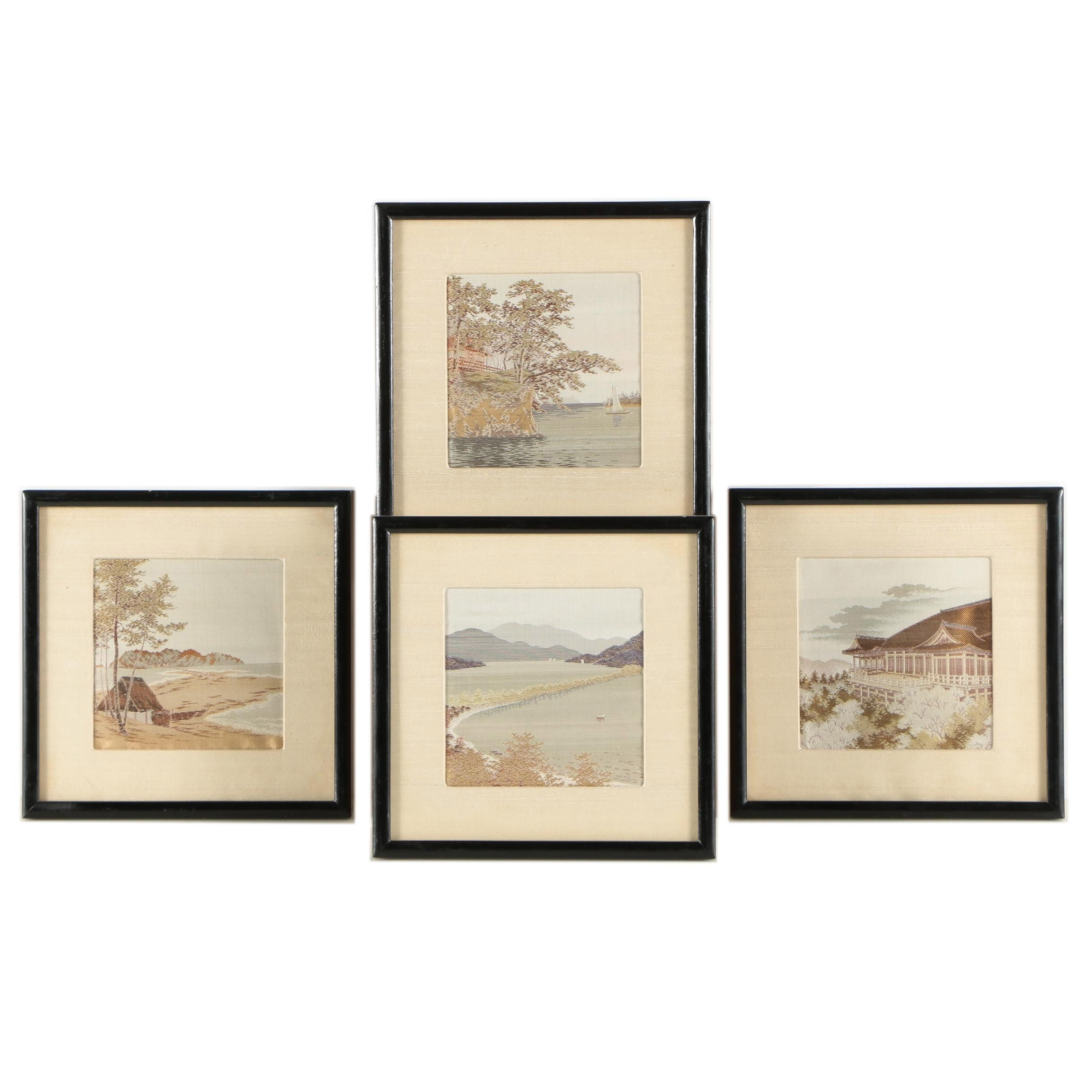 Japanese Tapestries of Landscapes