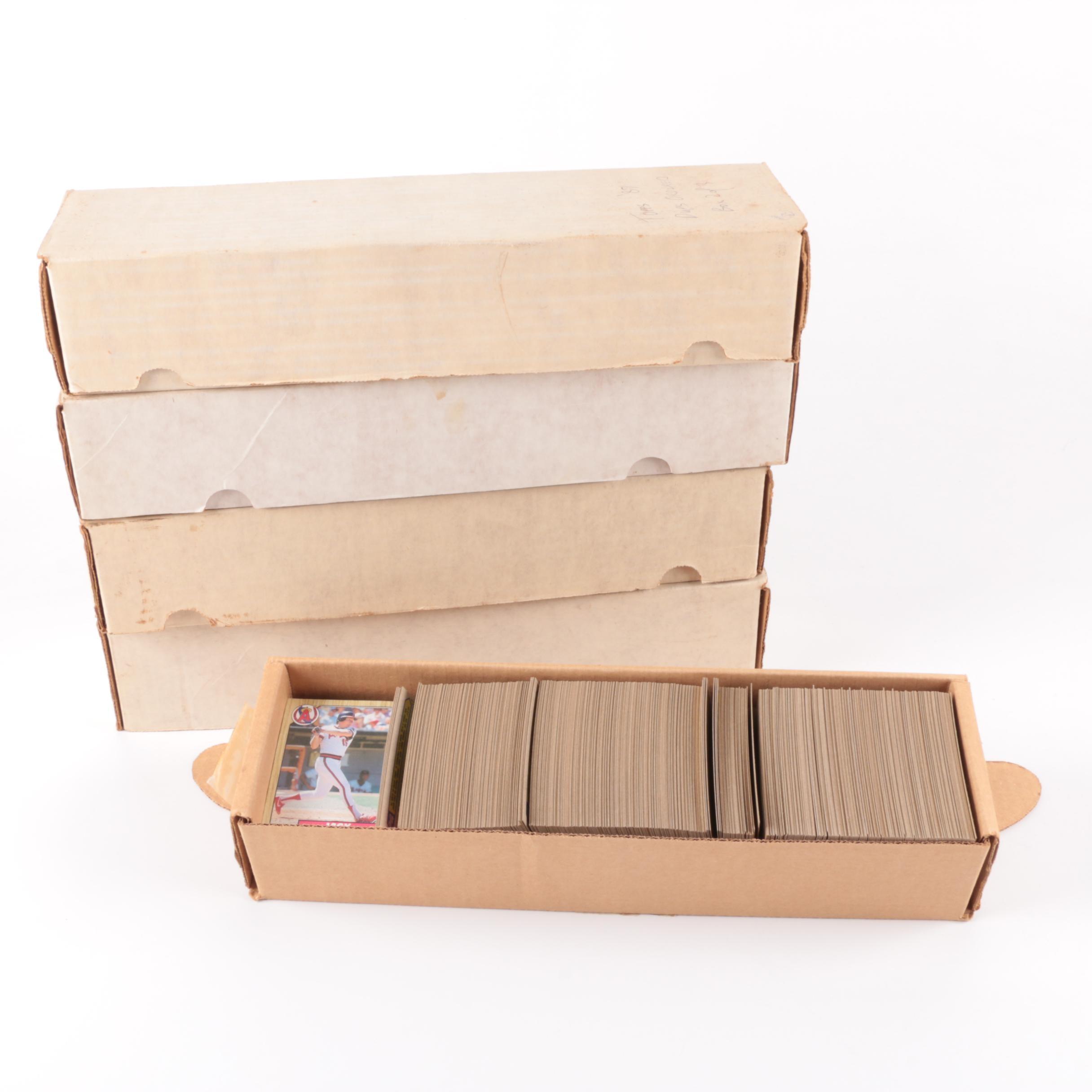 1980s-1990s Baseball Cards