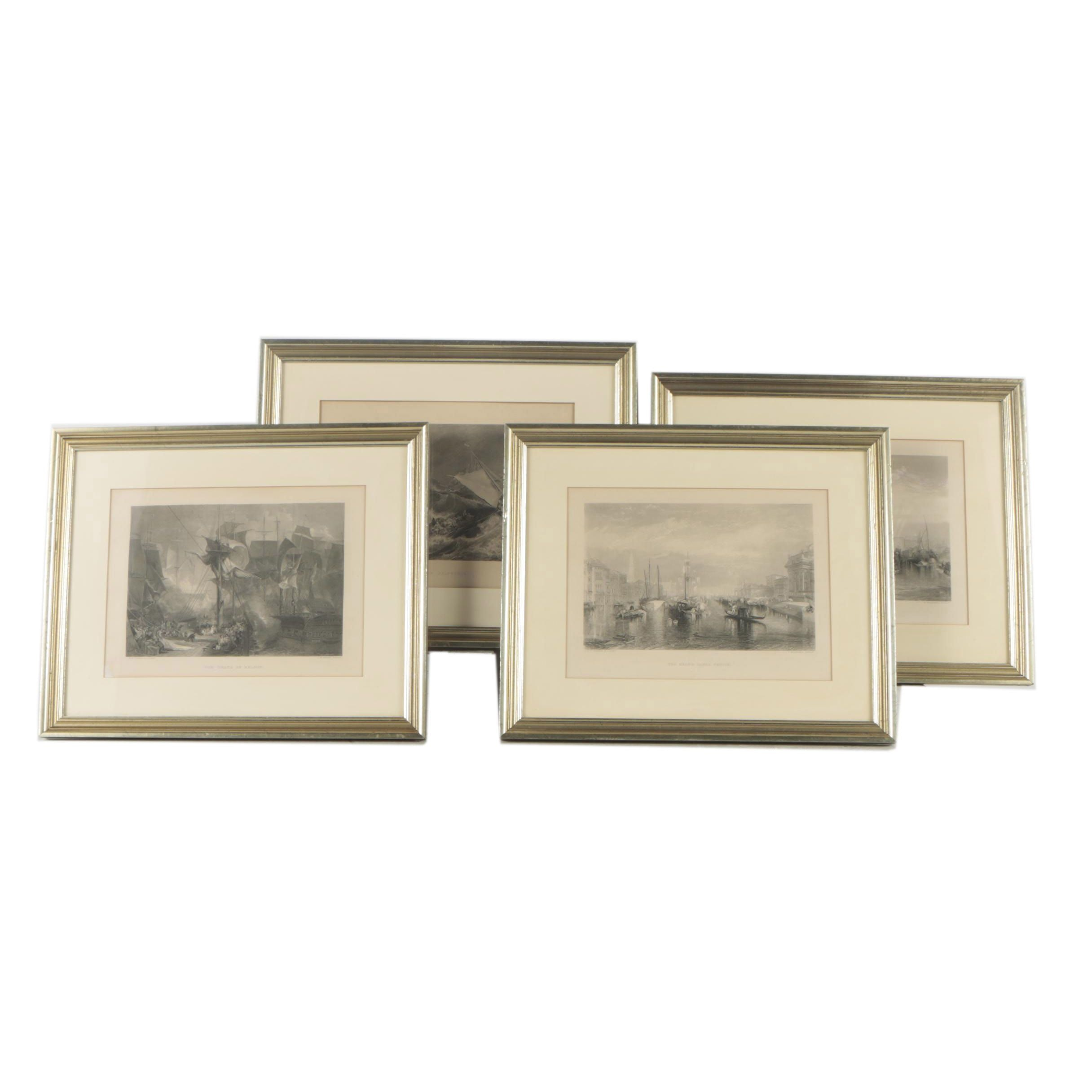 """Engravings After J.M.W. Turner Featuring """"Venice"""""""