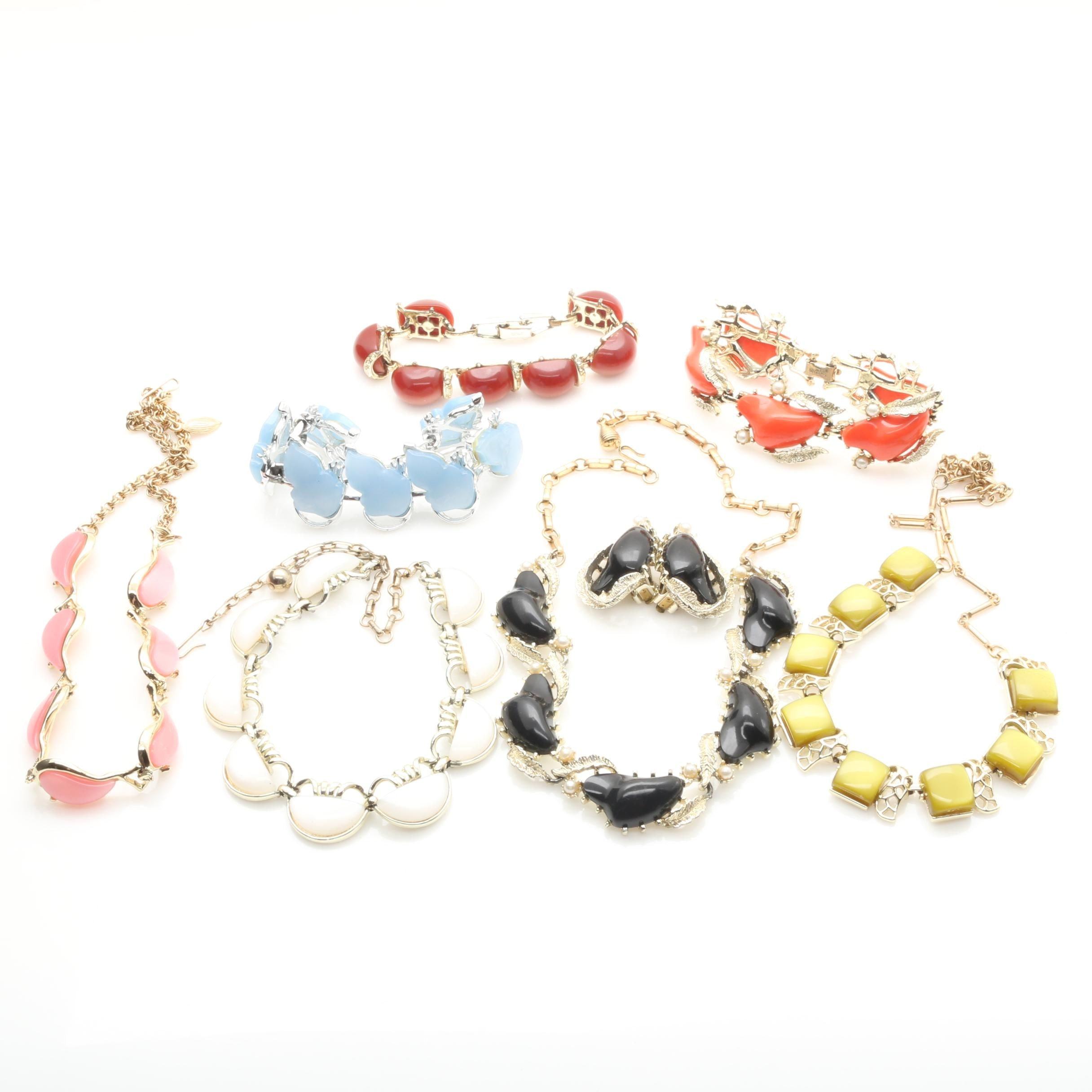 Assorted Synthetic Pearl, Glass and Thermoset Jewelry