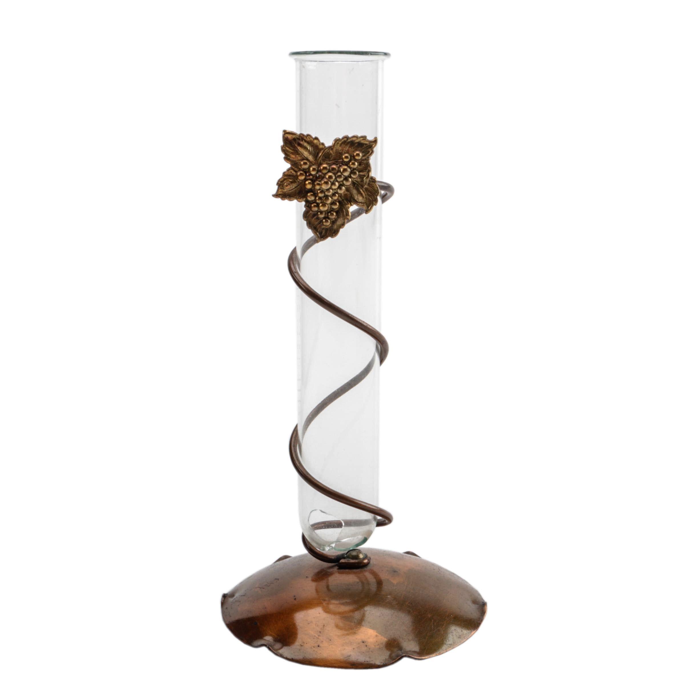 Drumgoli Copper Base Test Tube Vase