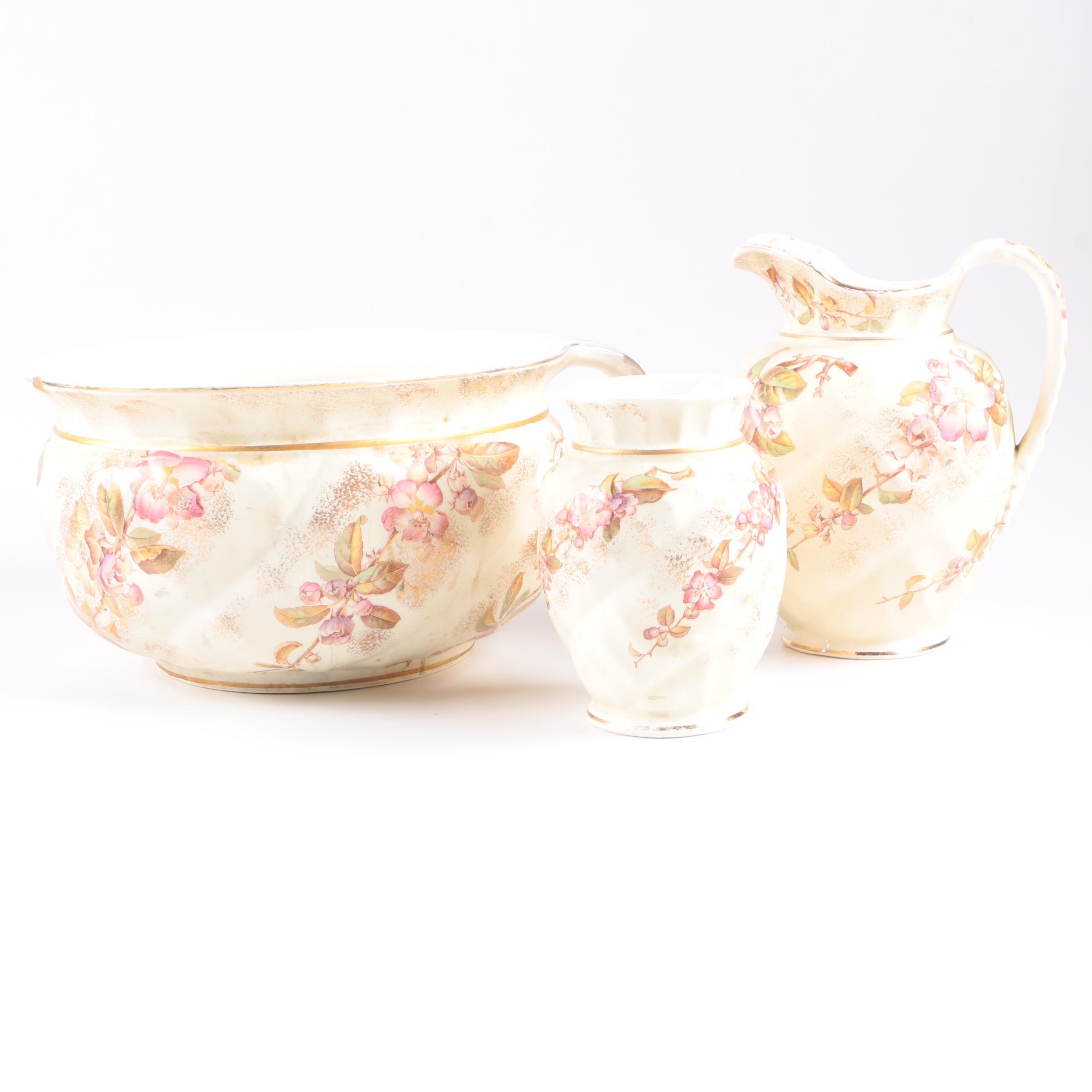 "Antique Brown, Westhead & Moore T""Sylvia"" Tableware"