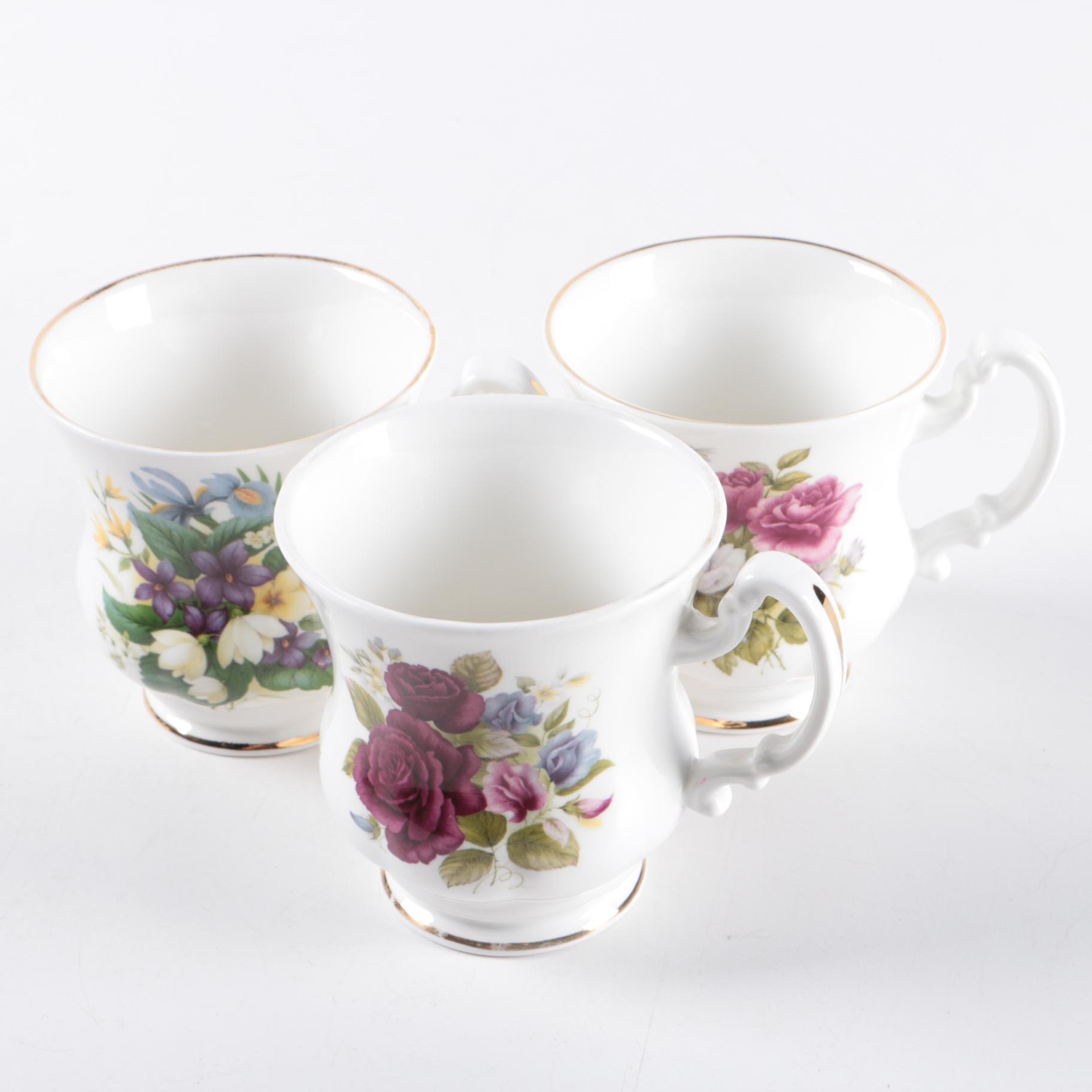 Royal Park Bone China Teacups