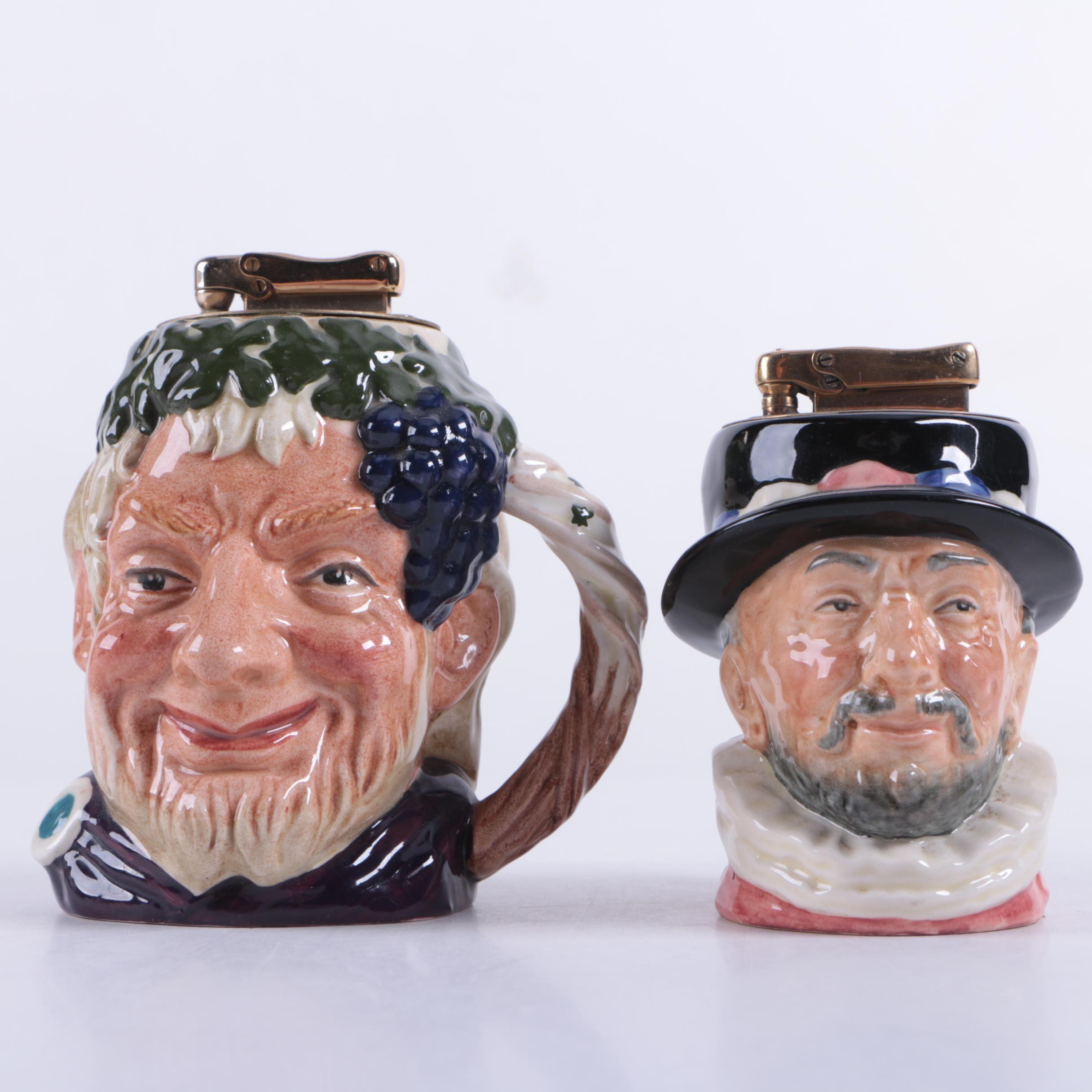 Royal Doulton Ceramic Lighters