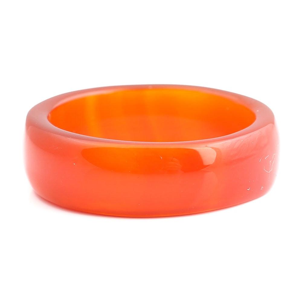Solid Carnelian Ring