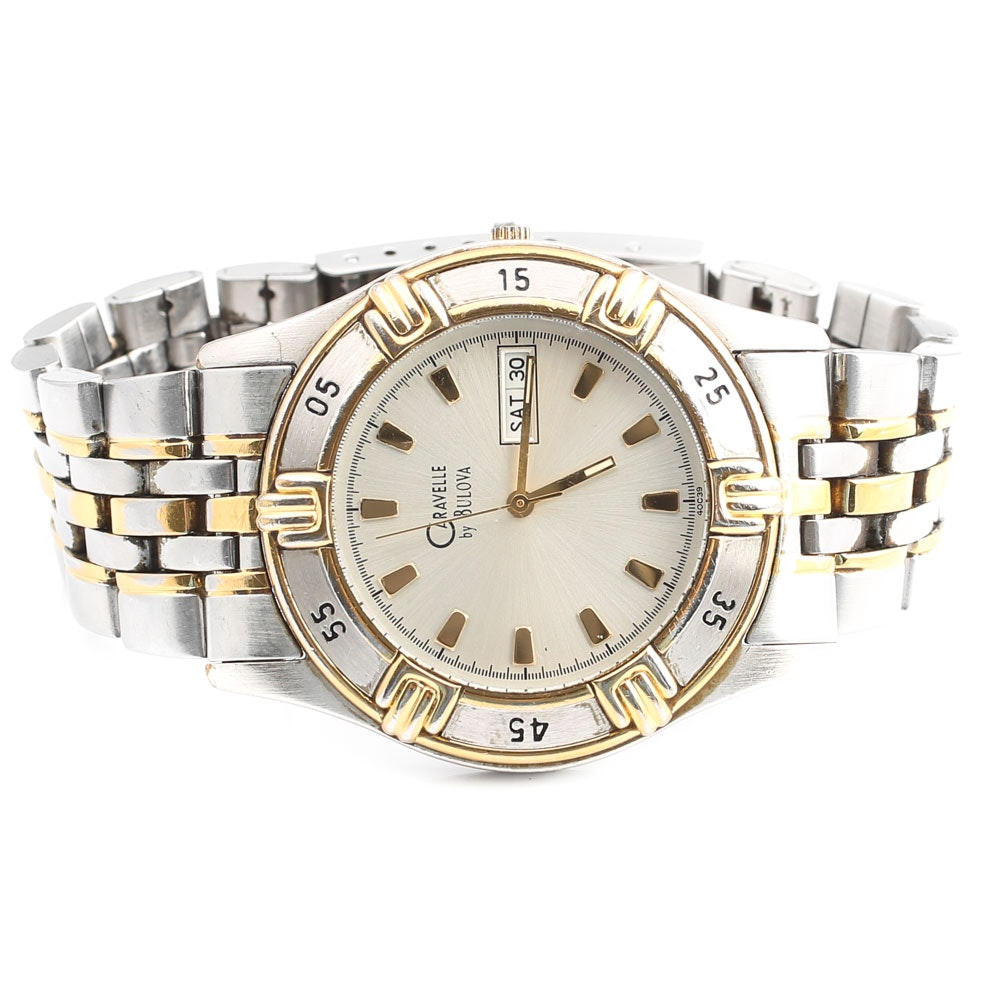 Caravelle by Bulova Two-Tone Stainless Steel Wristwatch