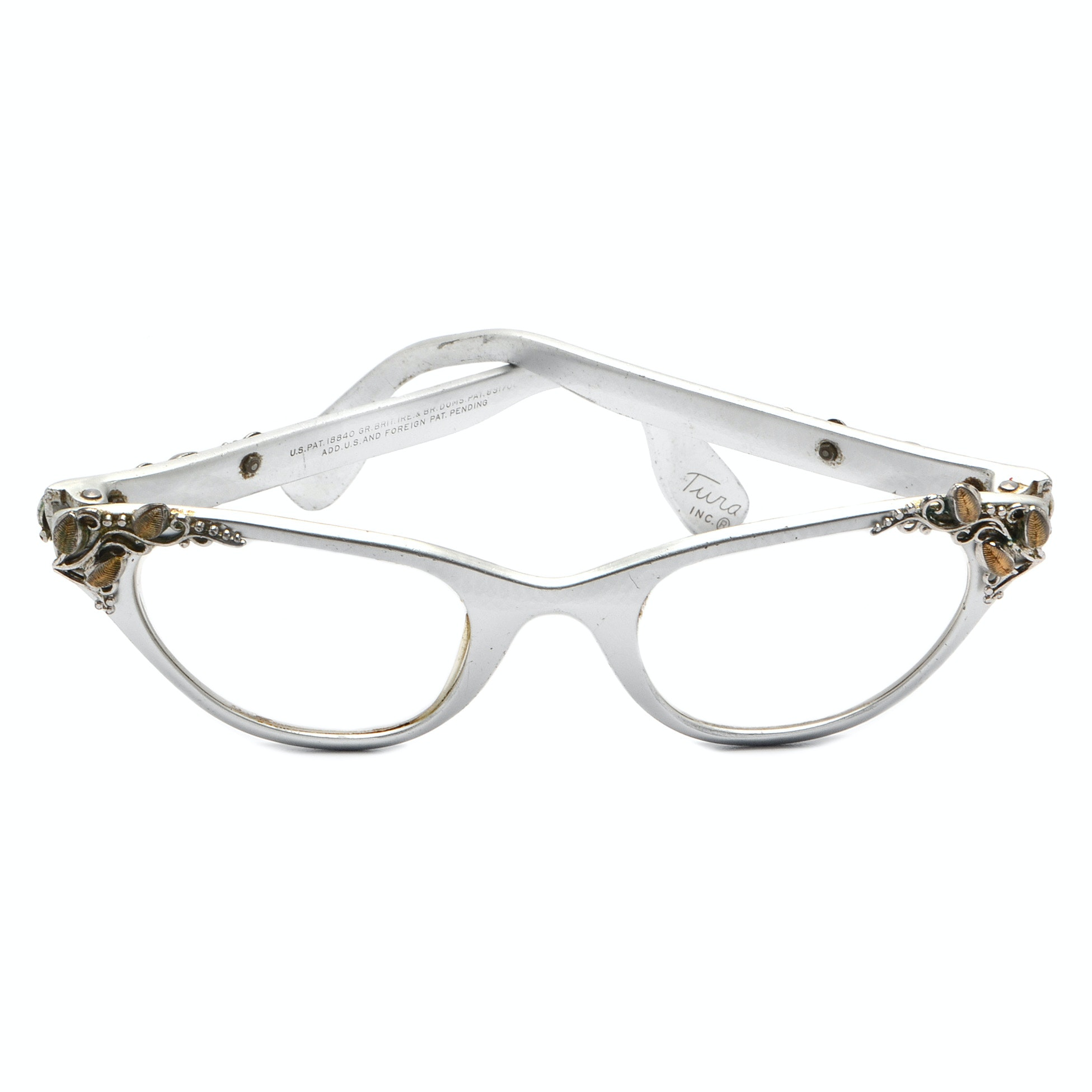 Vintage Tura Cat Eyeglasses
