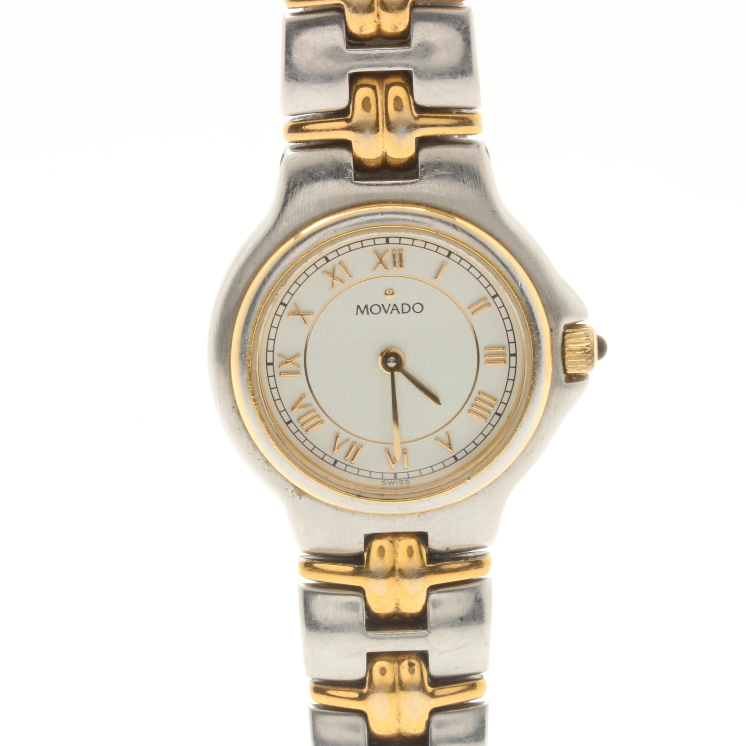 Movado Two-Tone Wristwatch