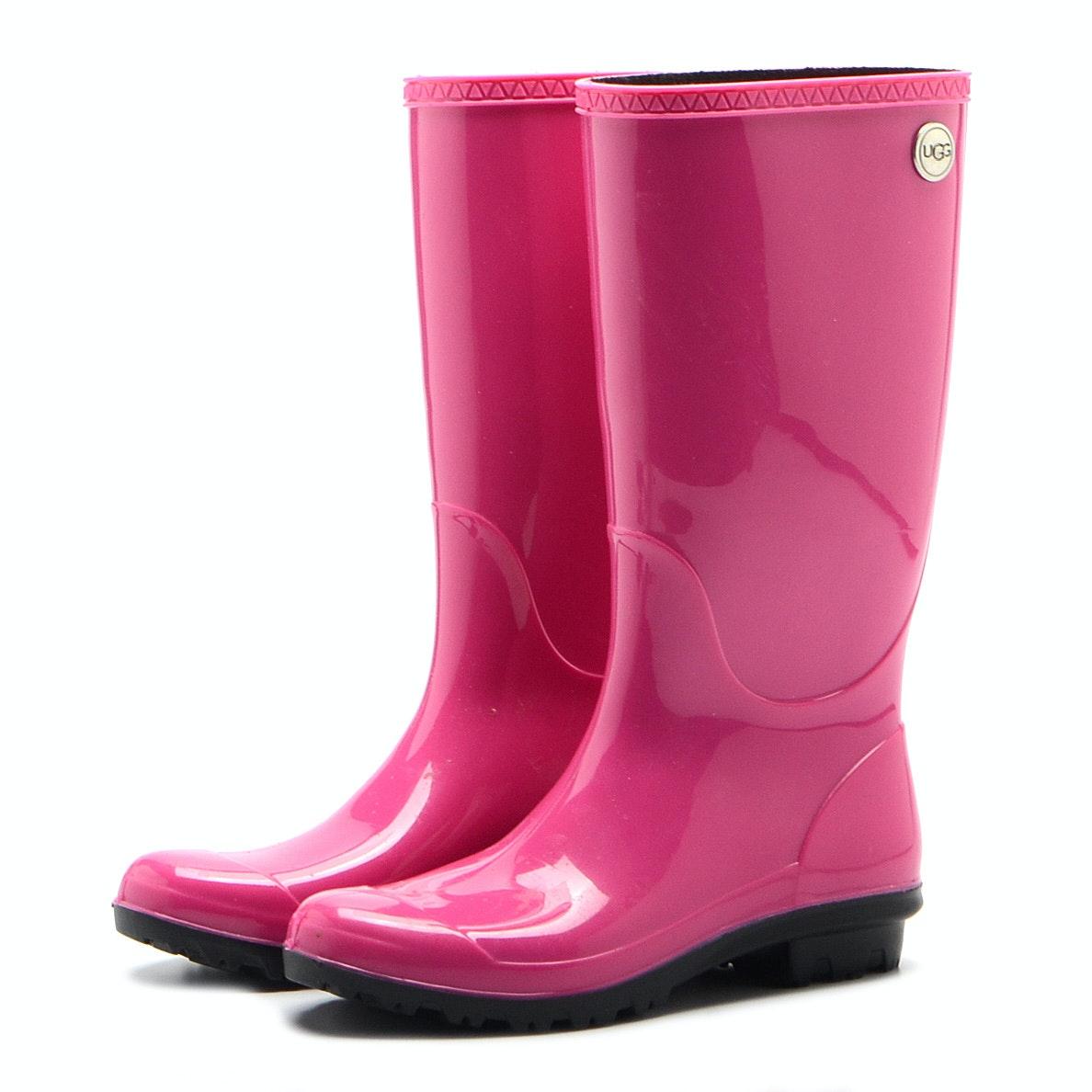 UGG Hot Pink Rain Boots