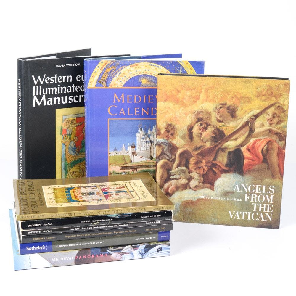 Art Reference Books Featuring Illuminated Manuscripts
