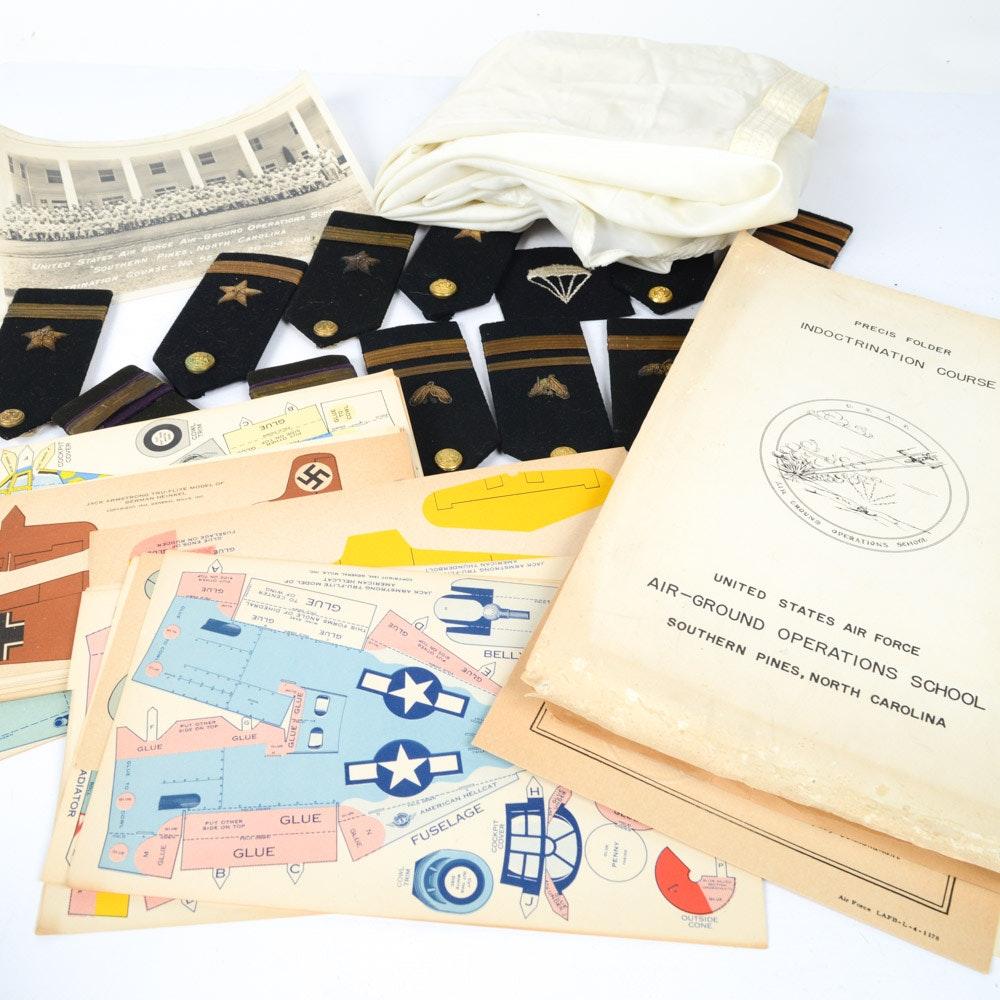 Vintage Military Memorabilia