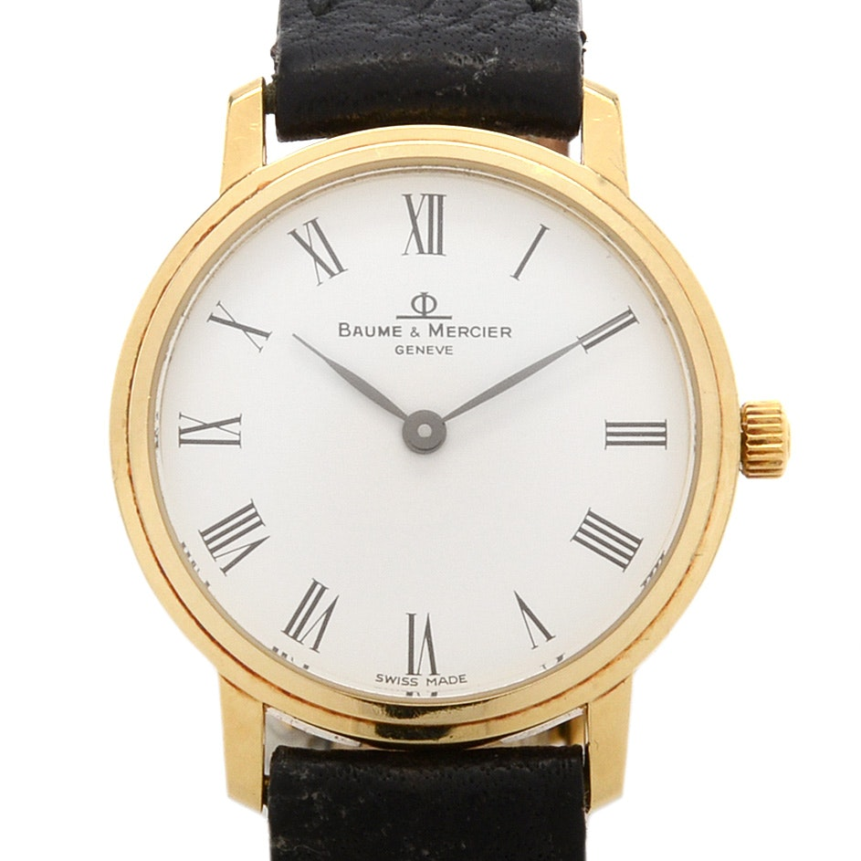 Baume & Mercier 14K Gold Swiss Watch