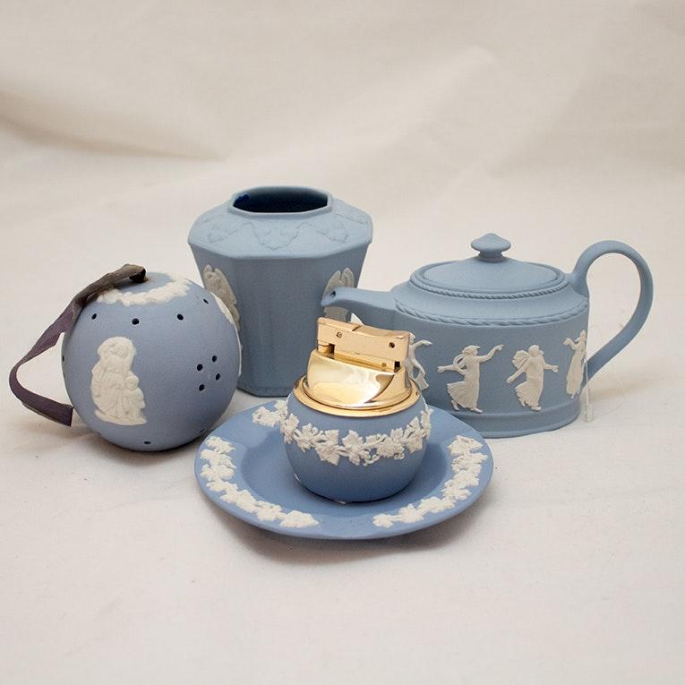 Wedgwood Blue Jasperware