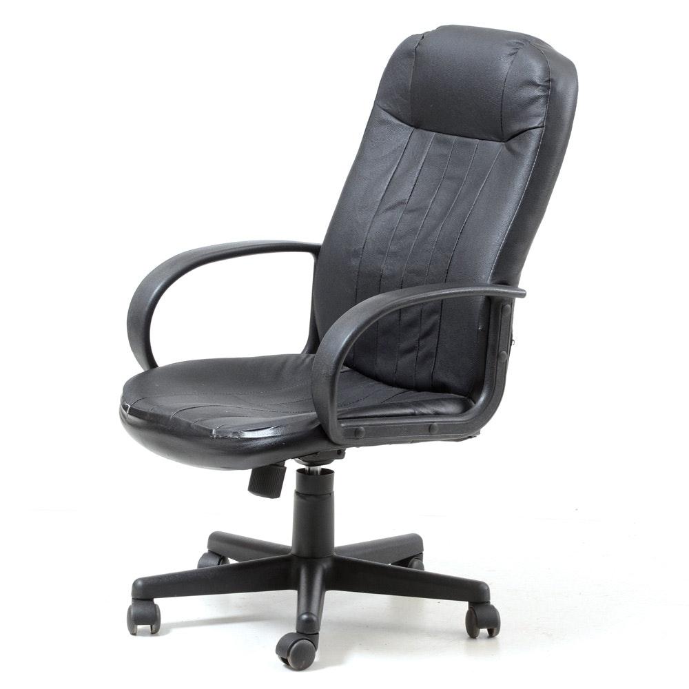 Black Office Depot Desk Chair