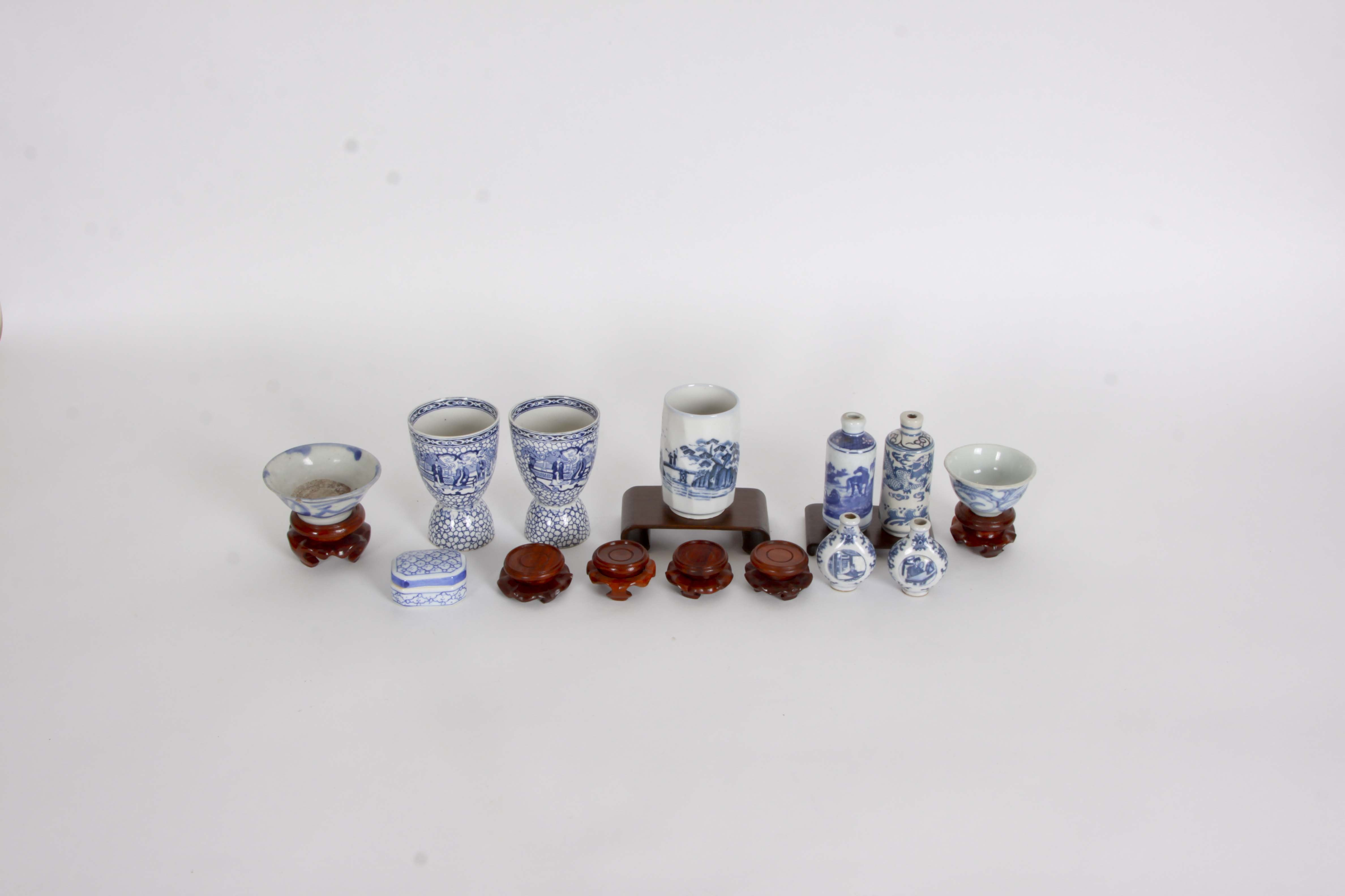 Assorted Chinese Medicinal Bottles and Decor