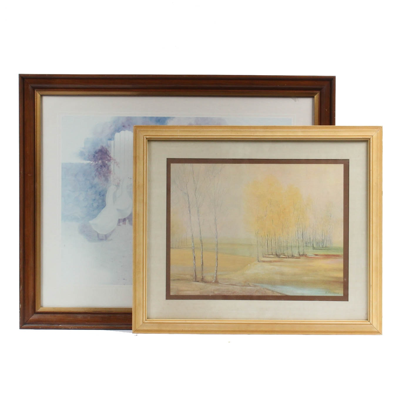 After Mildred Bartee and G. Giuliani Offset Lithographs