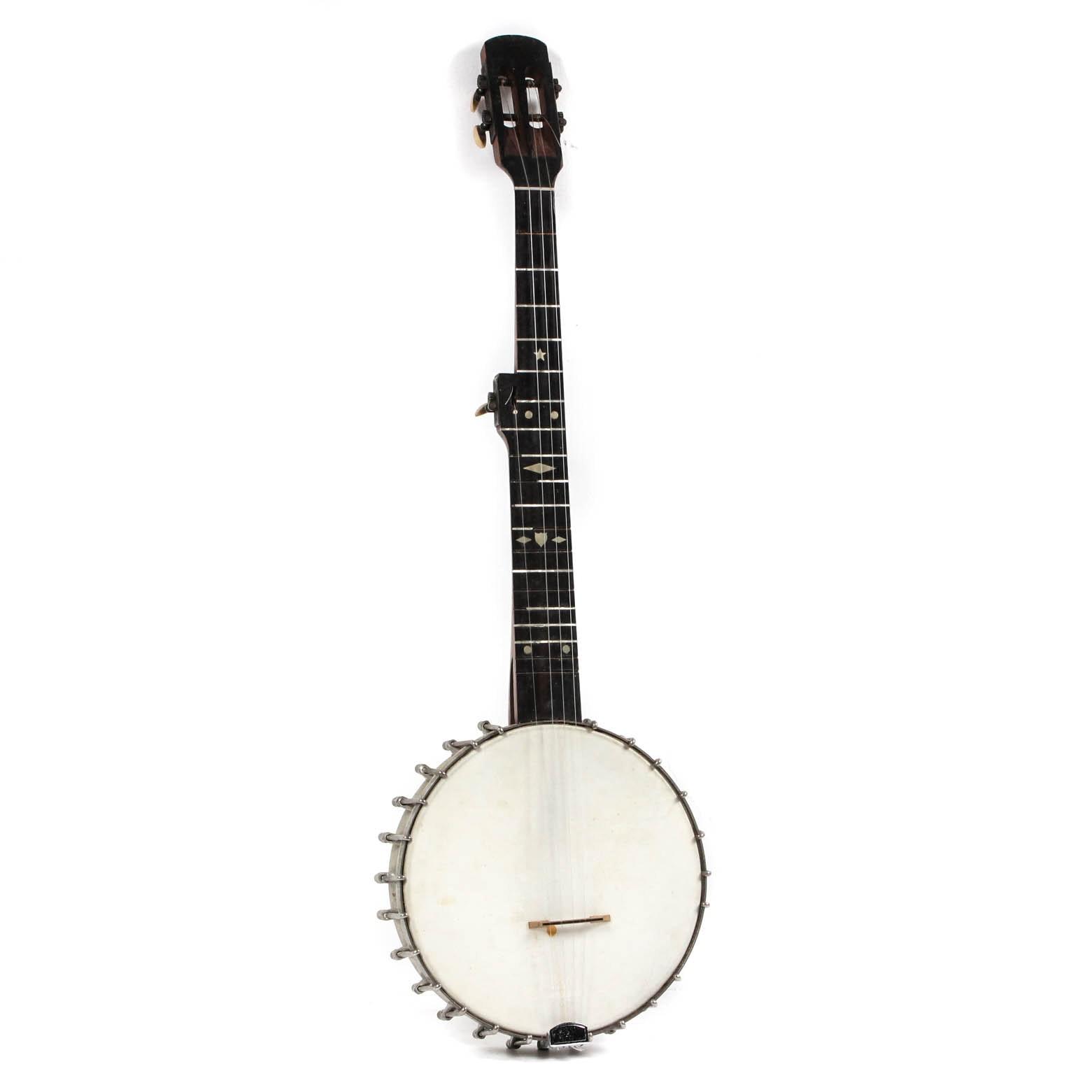 Vintage Banjo with Case