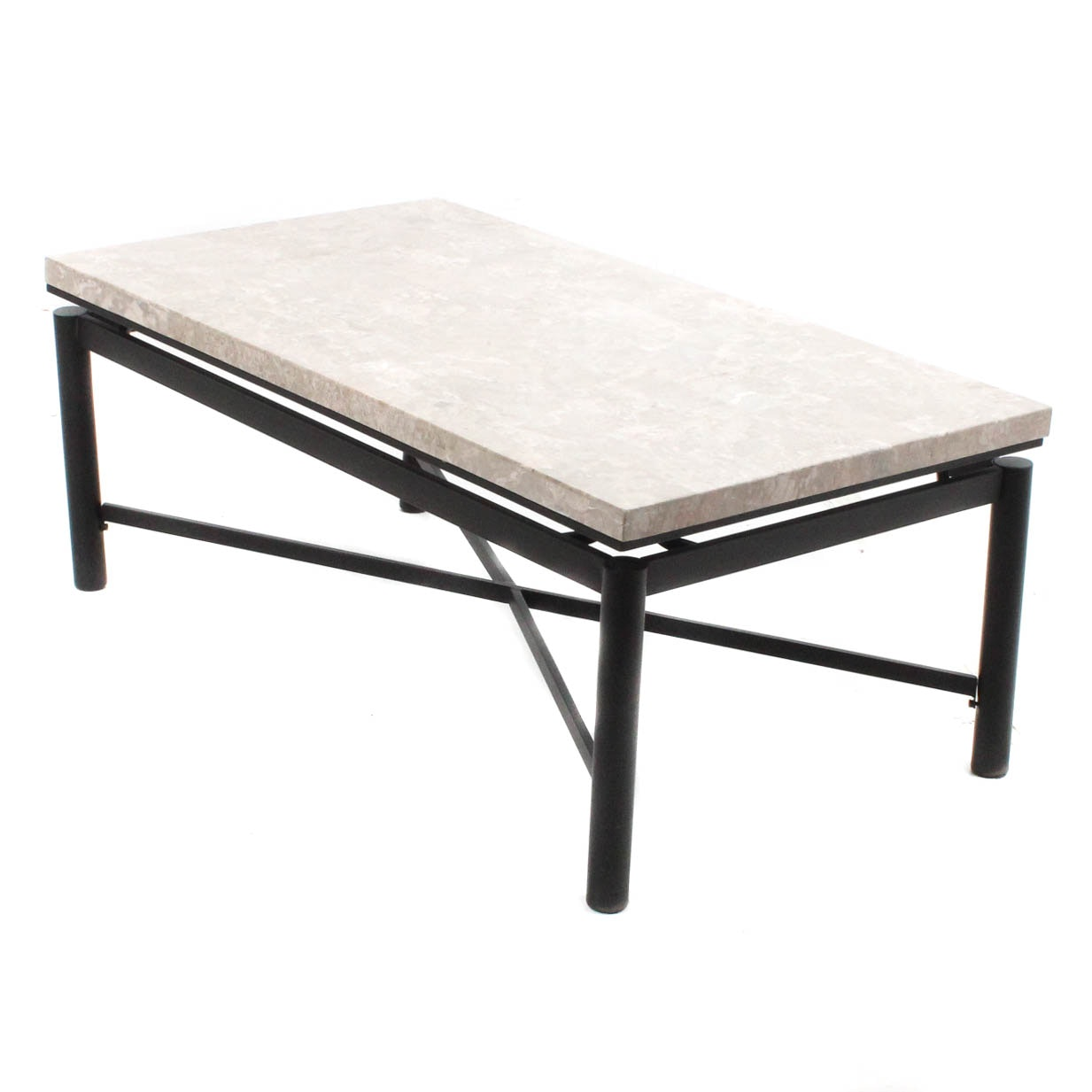 Steve Silver Company Marble Tile Top Coffee Table