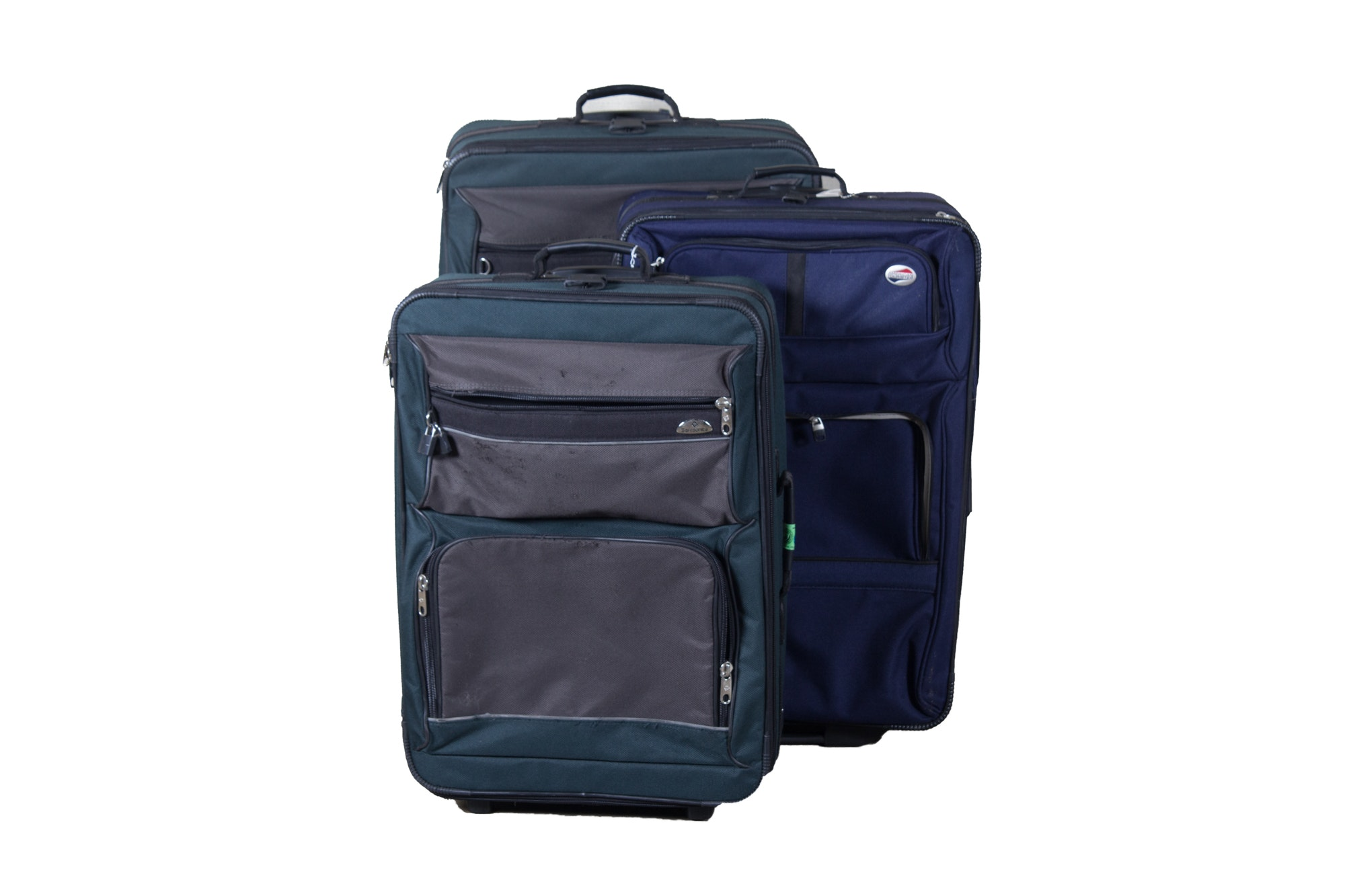 Three Luggage Including Samsonite and American Tourister
