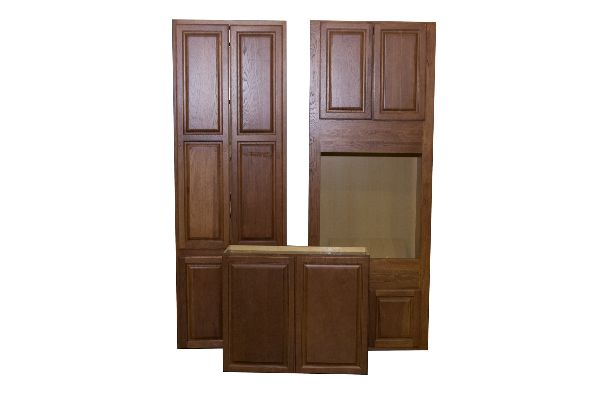 Three Various Sized Cabinets