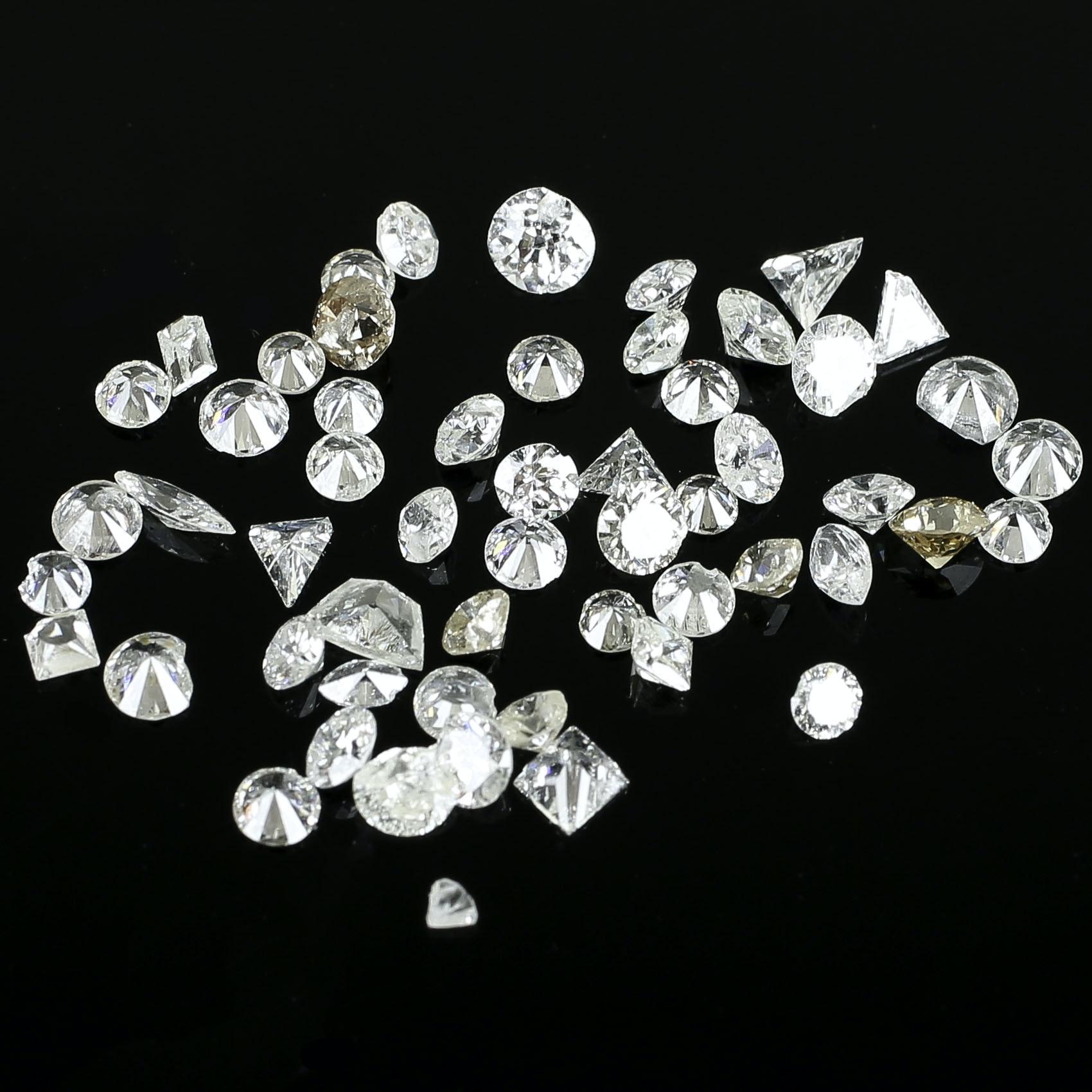 4.20 CTW Loose Diamonds