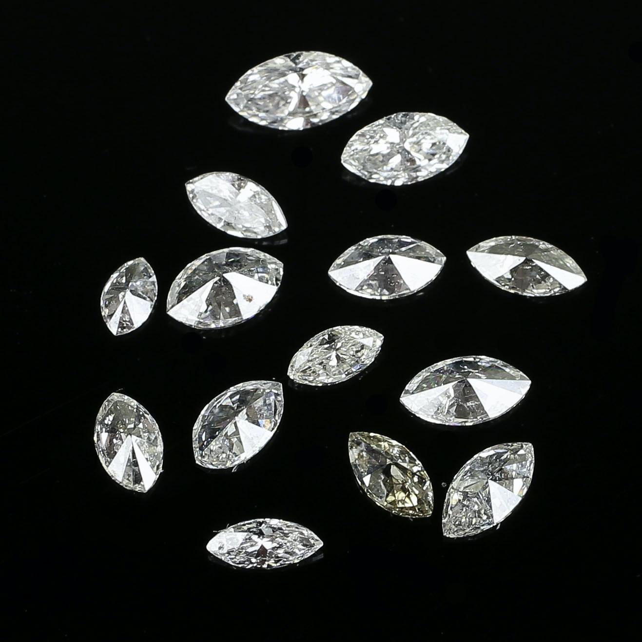 1.75 CTW Loose Marquise Diamonds