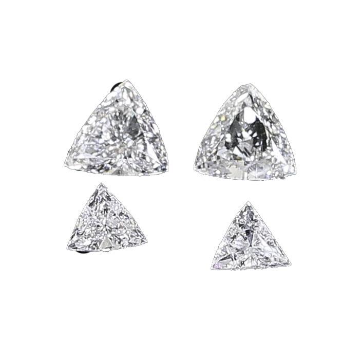 0.395 CTW Loose Trillion Diamonds