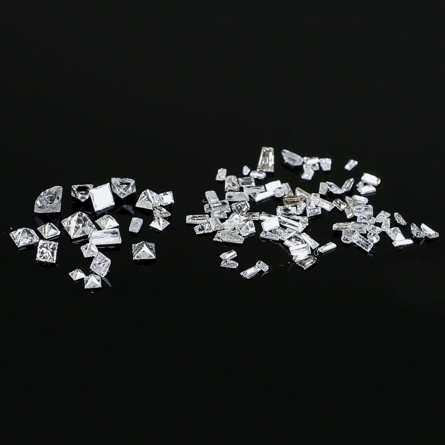2.09 CTW Loose Baguette and Princess Cut Diamonds
