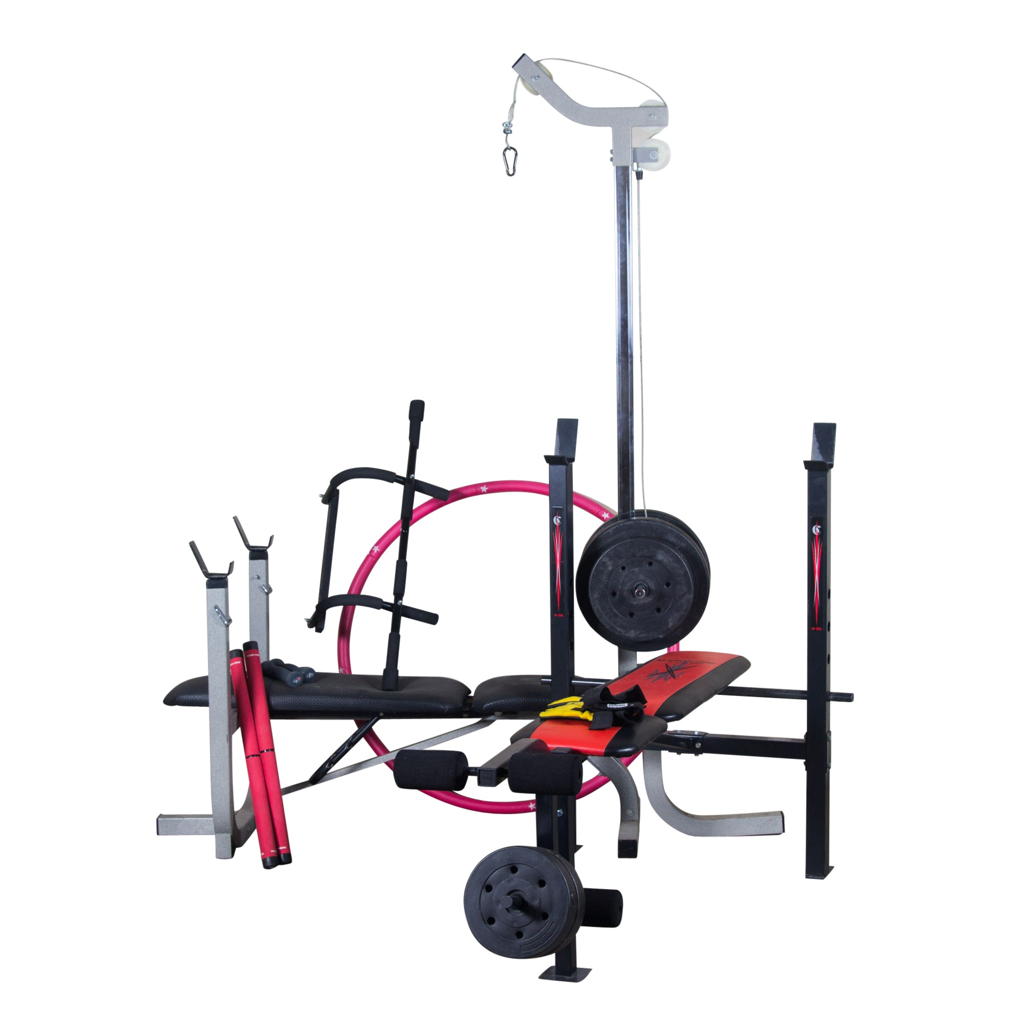 Large Grouping of Workout Equipment