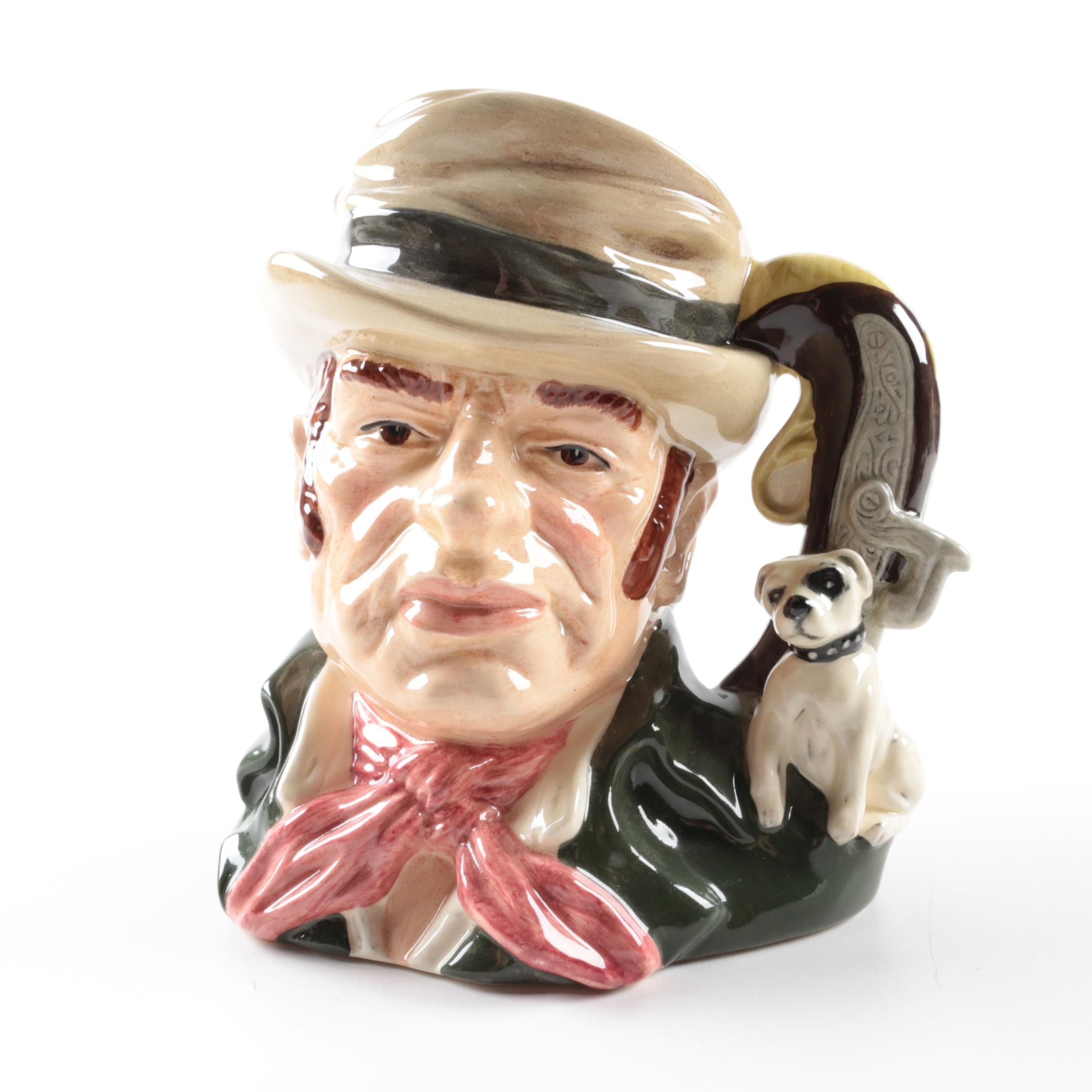 "Royal Doulton ""Bill Sikes"" Limited Edition Toby Jug D6981 Copyright 1994"