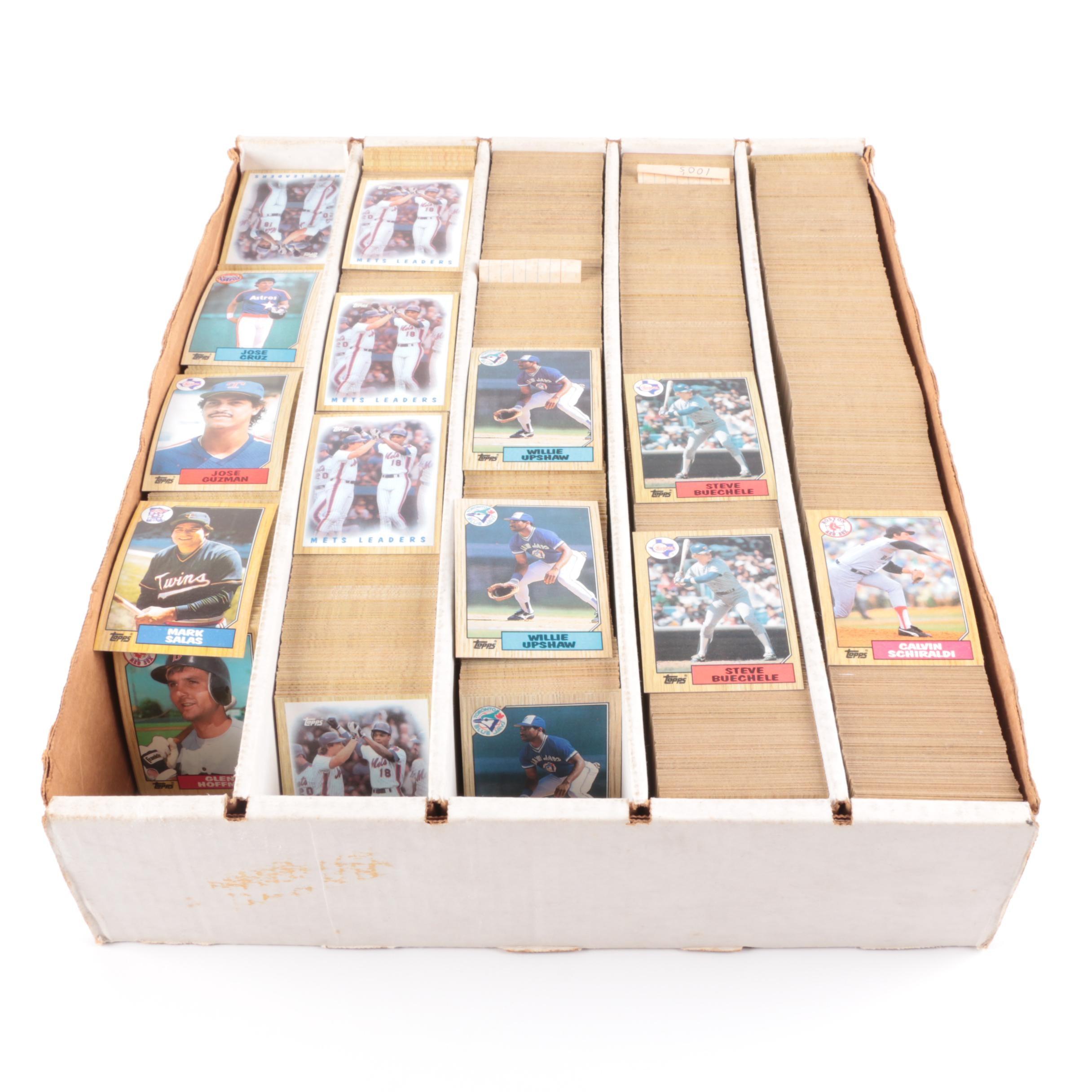 1980s Baseball Cards Including Topps