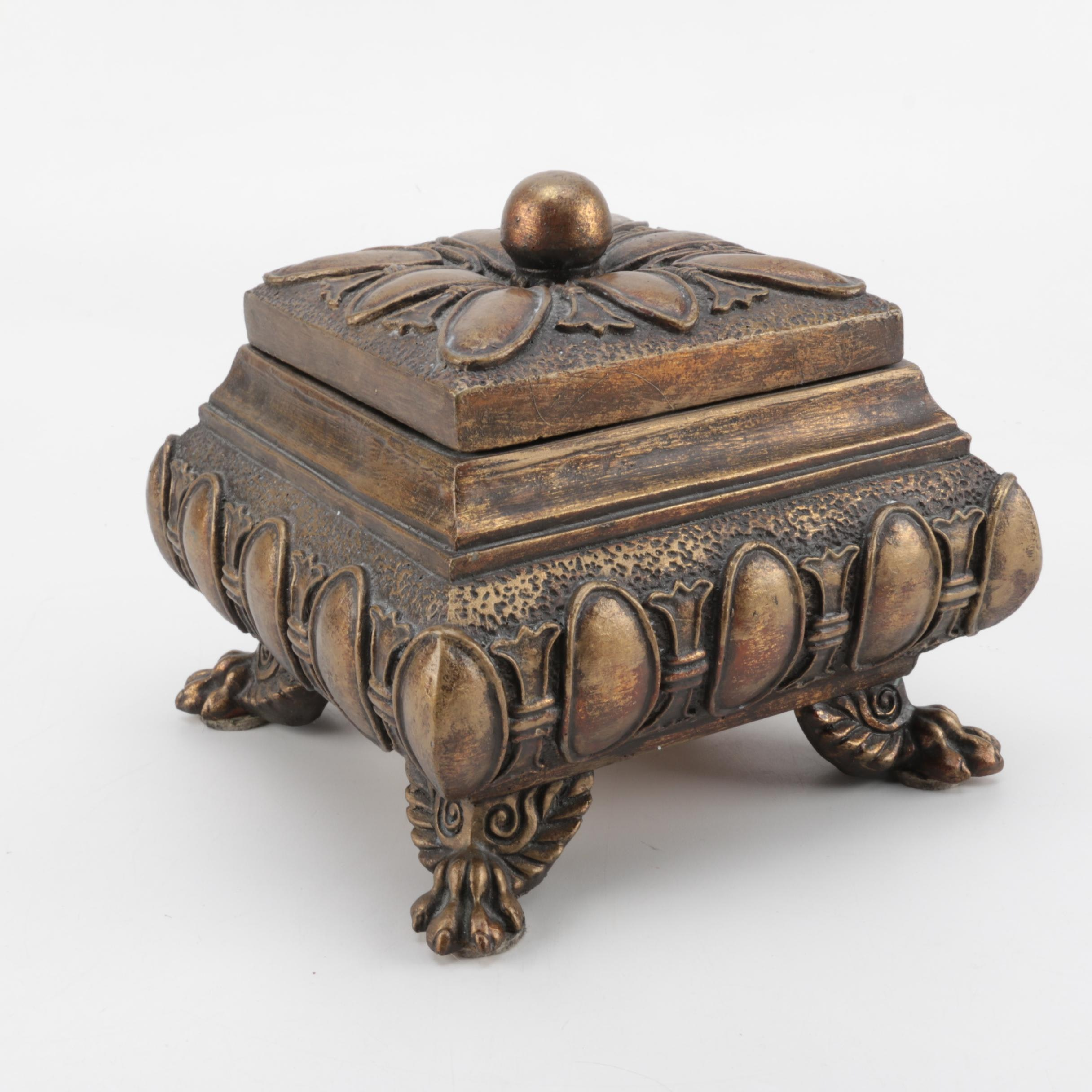 Decorative Footed Box